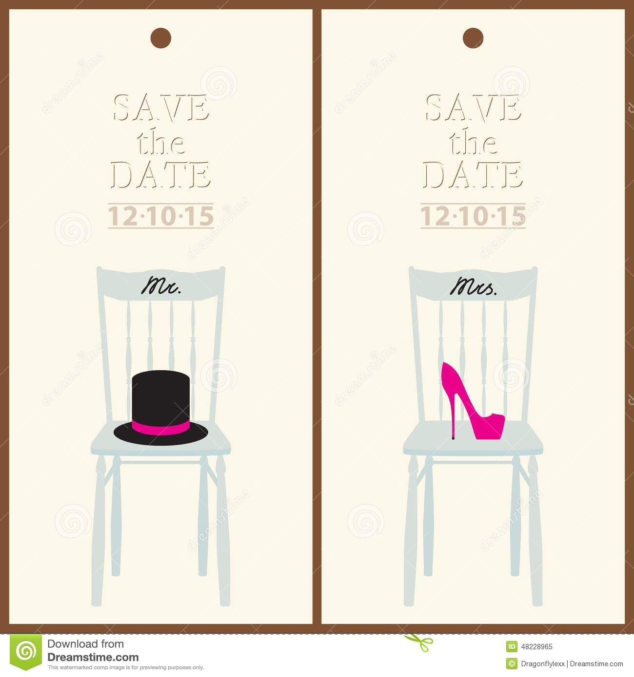 Save The Date Stock Vector Illustration Of Celebration - Card template free: postcard wedding invitations template