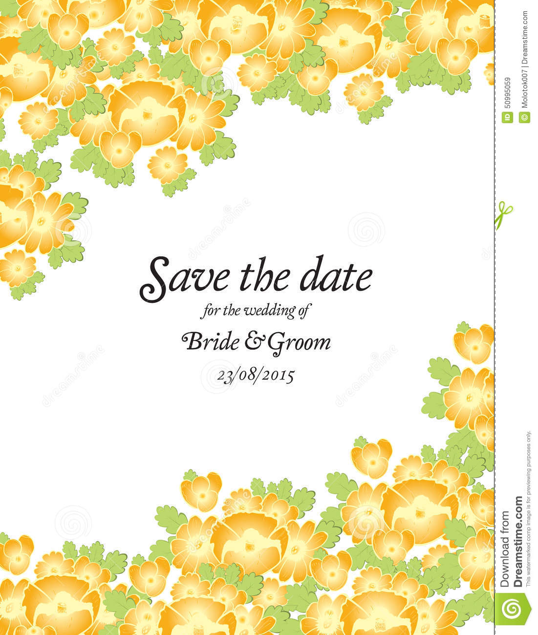 Golden Save The Date For Wedding Invitation Wedding: Save The Date Wedding Invite Card Template With Golden