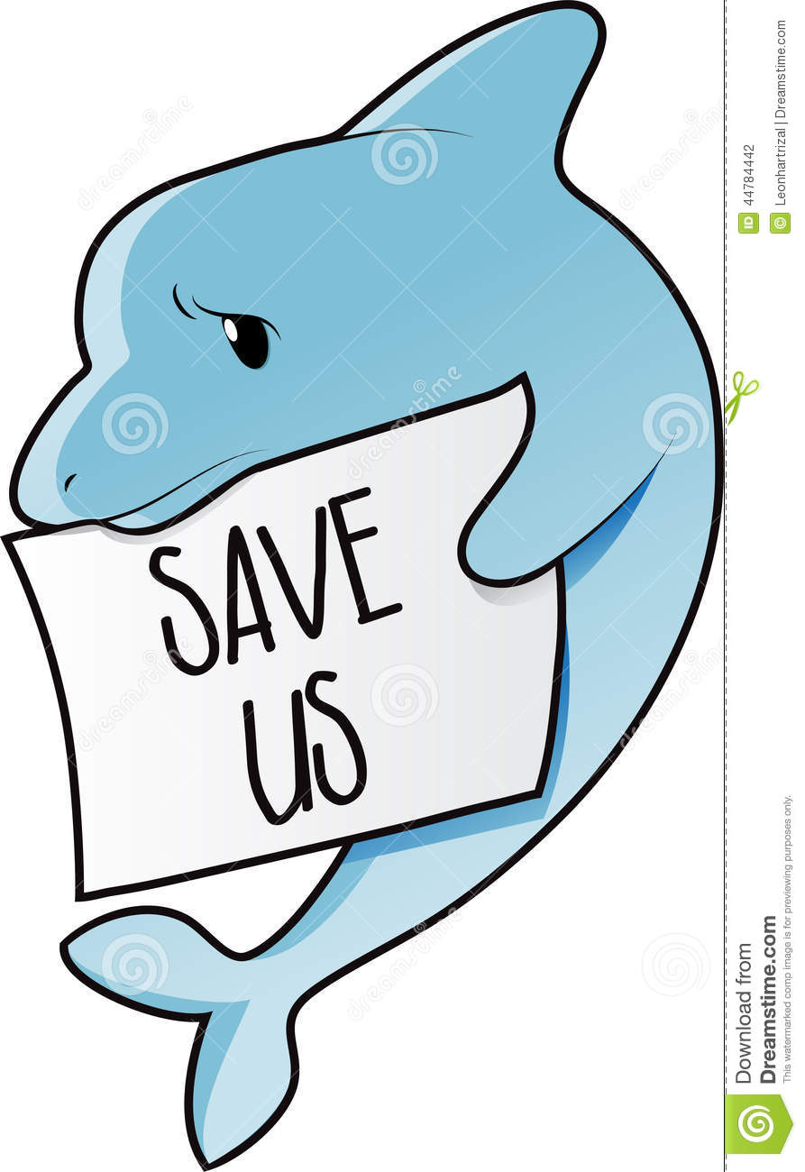save dolphin stock vector image of protection  vector dolphin clipart free dolphin clipart black and white