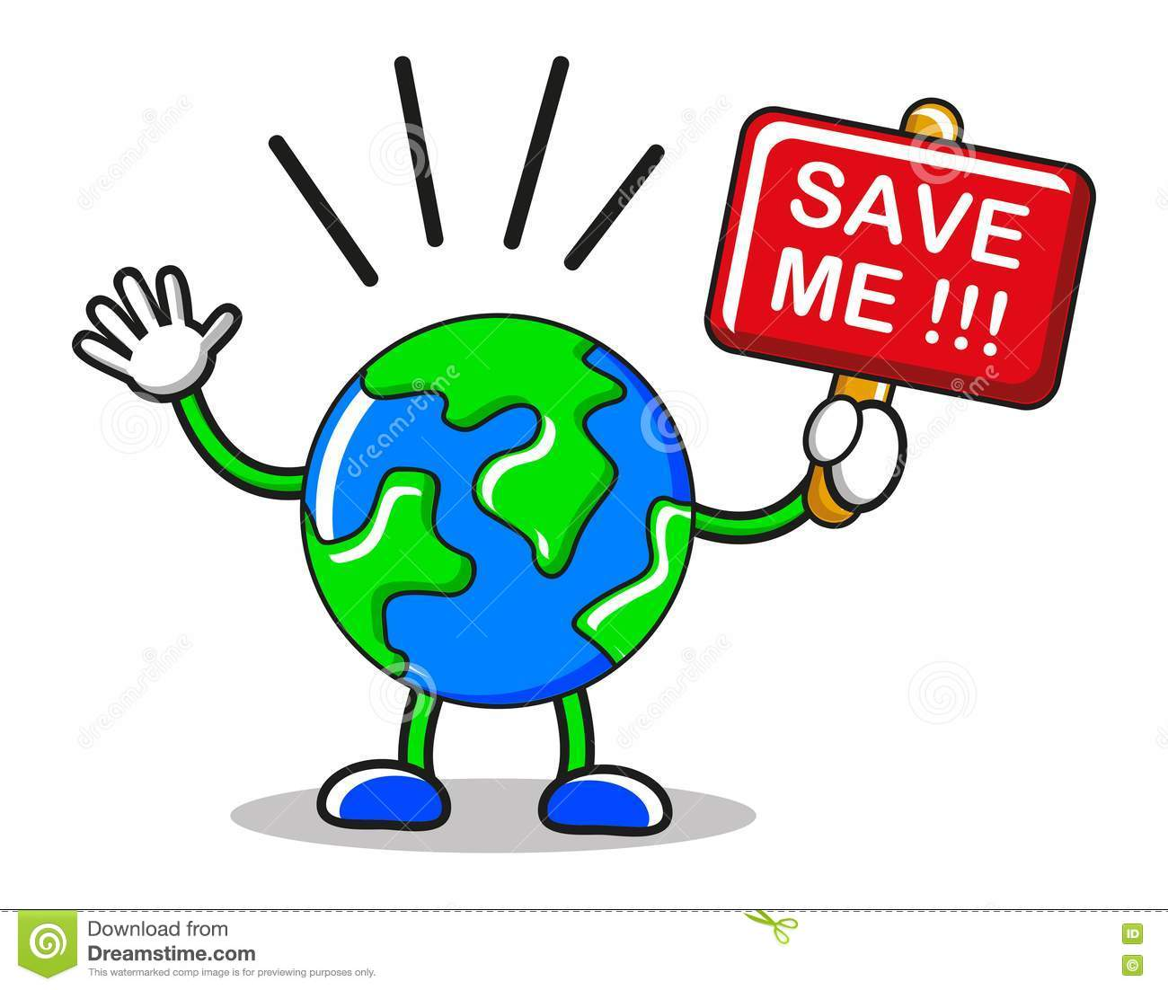 Save The Earth Stock Image Image 19135931