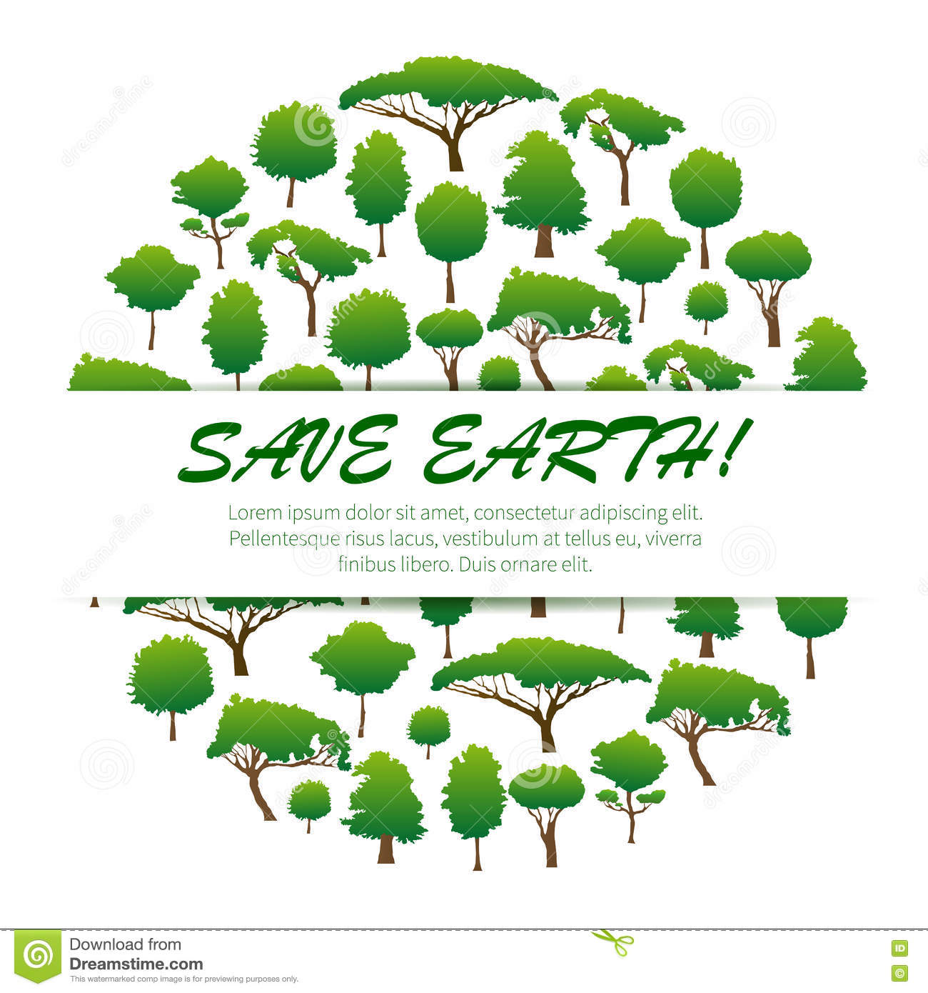 Poster design on save earth - Banner Concept Conservation Design Earth Ecology Emblem Environment Environmental Green Nature Poster Protection Save