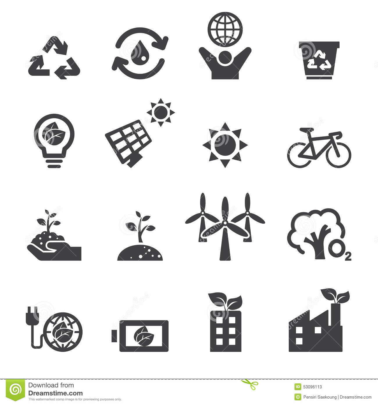 save the earth icons stock vector  image of background