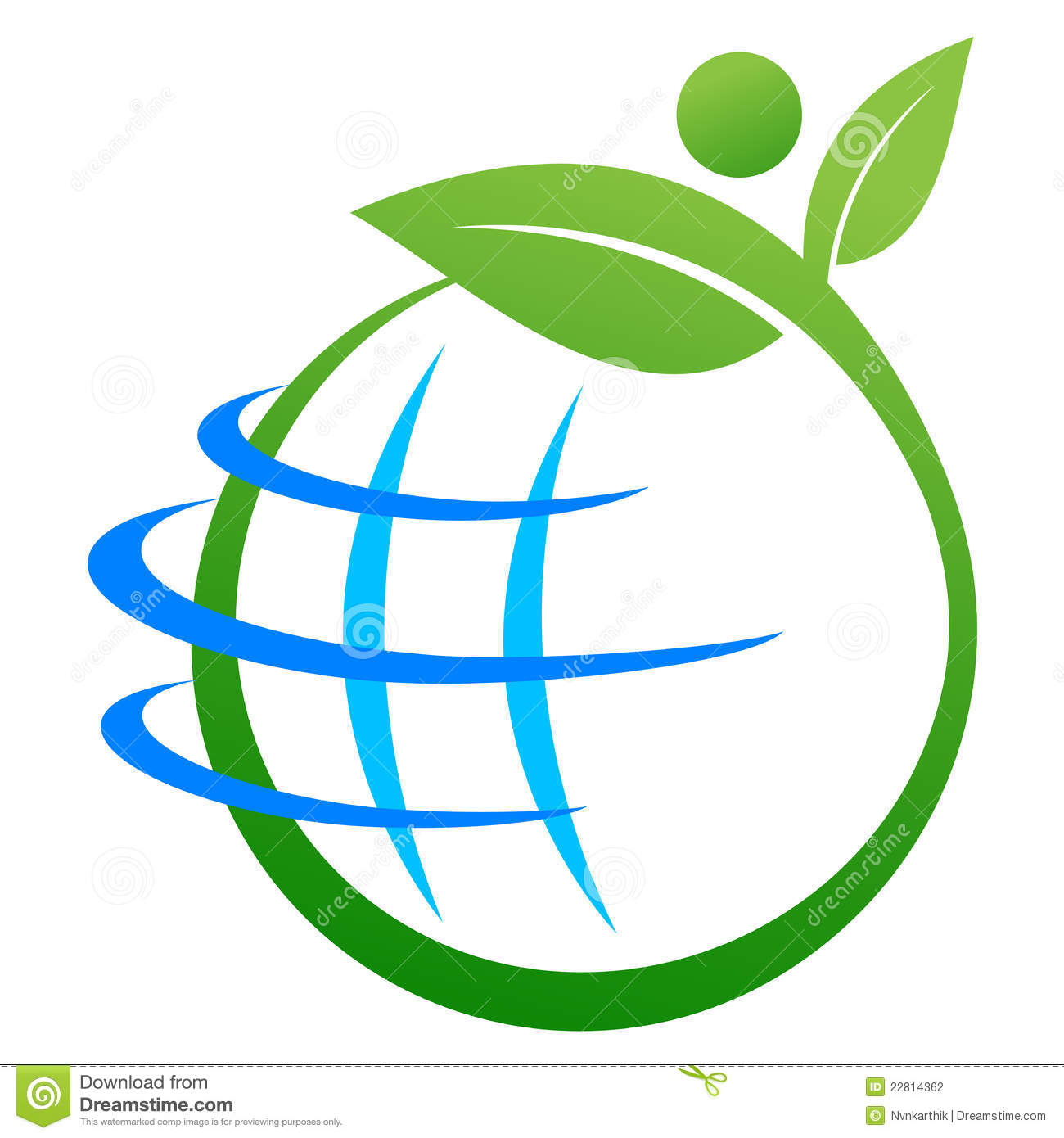 Save Earth Logo Stock Photography Image 22814362