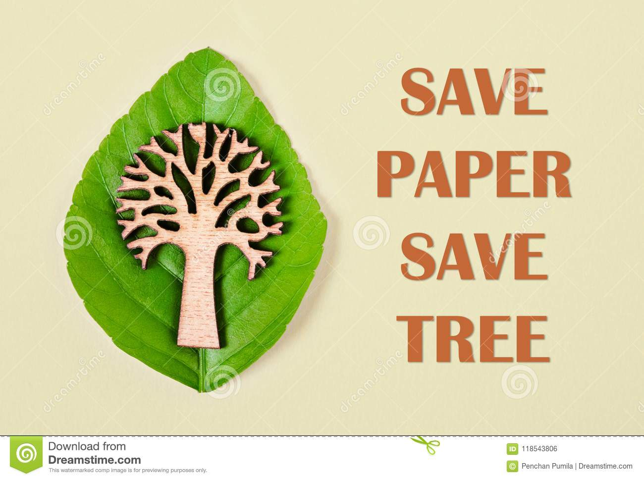Save Environment Concept Stock Photo Image Of Made 118543806
