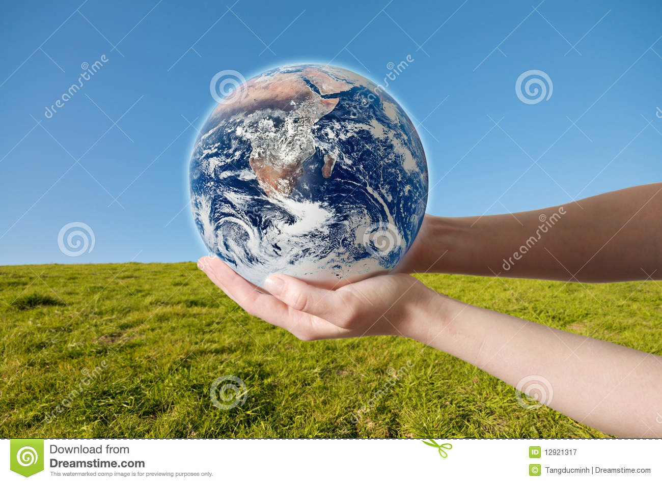 Save Environment Earth Royalty Free Stock Photography
