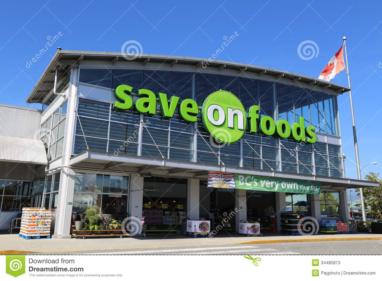 Coquitlam (BC) Canada  city pictures gallery : Save on foods in Port Coquitlam BC Canada.