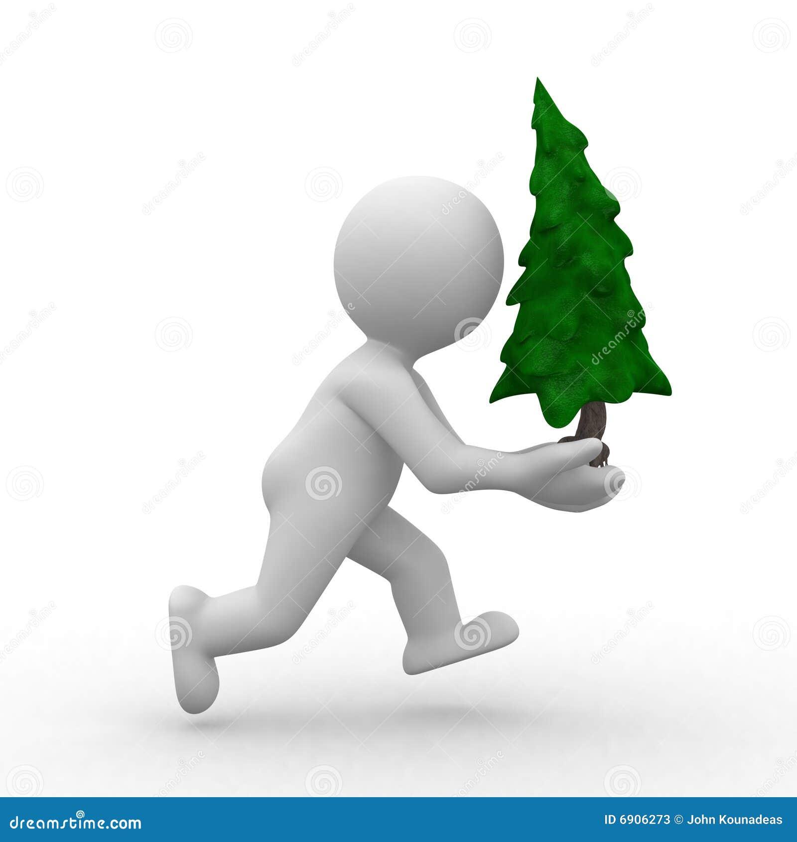 save the forest stock illustration illustration of bionomics 6906273