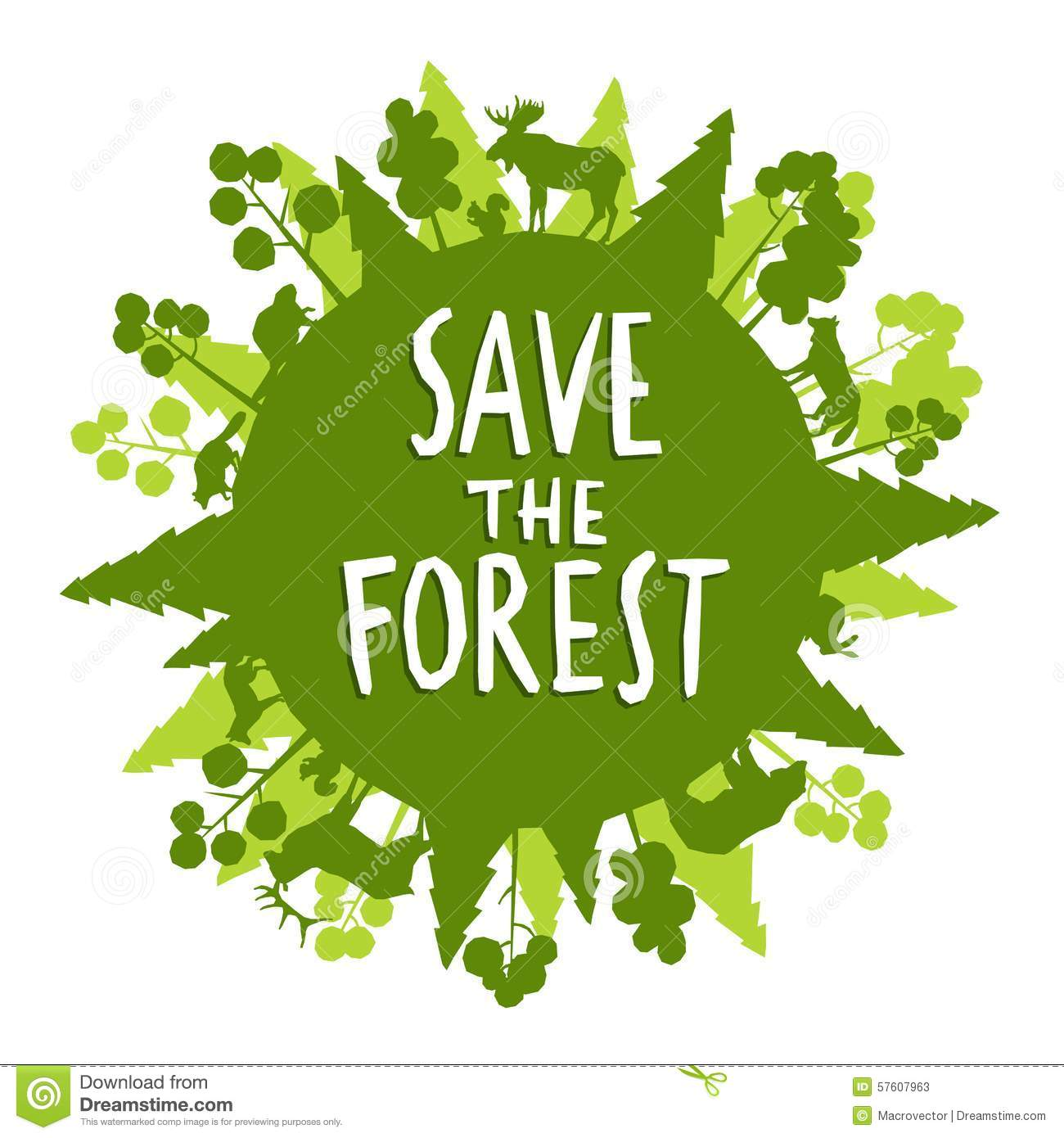 a discussion on saving trees and forests