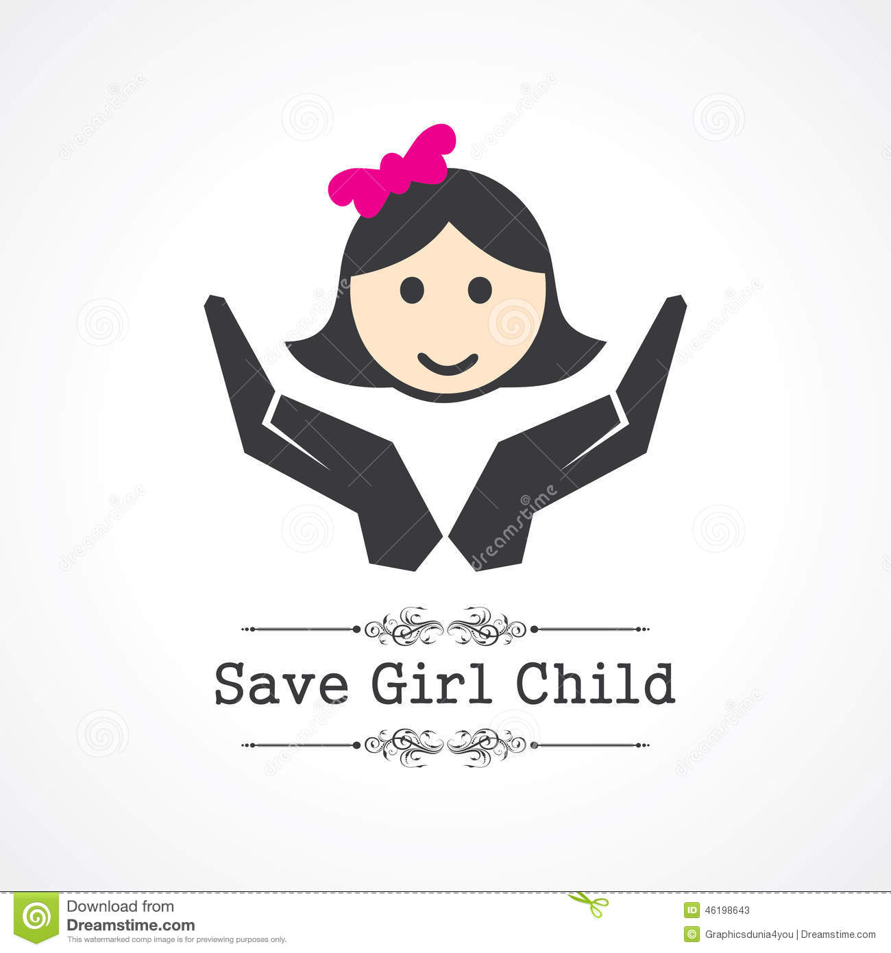 save baby girl child