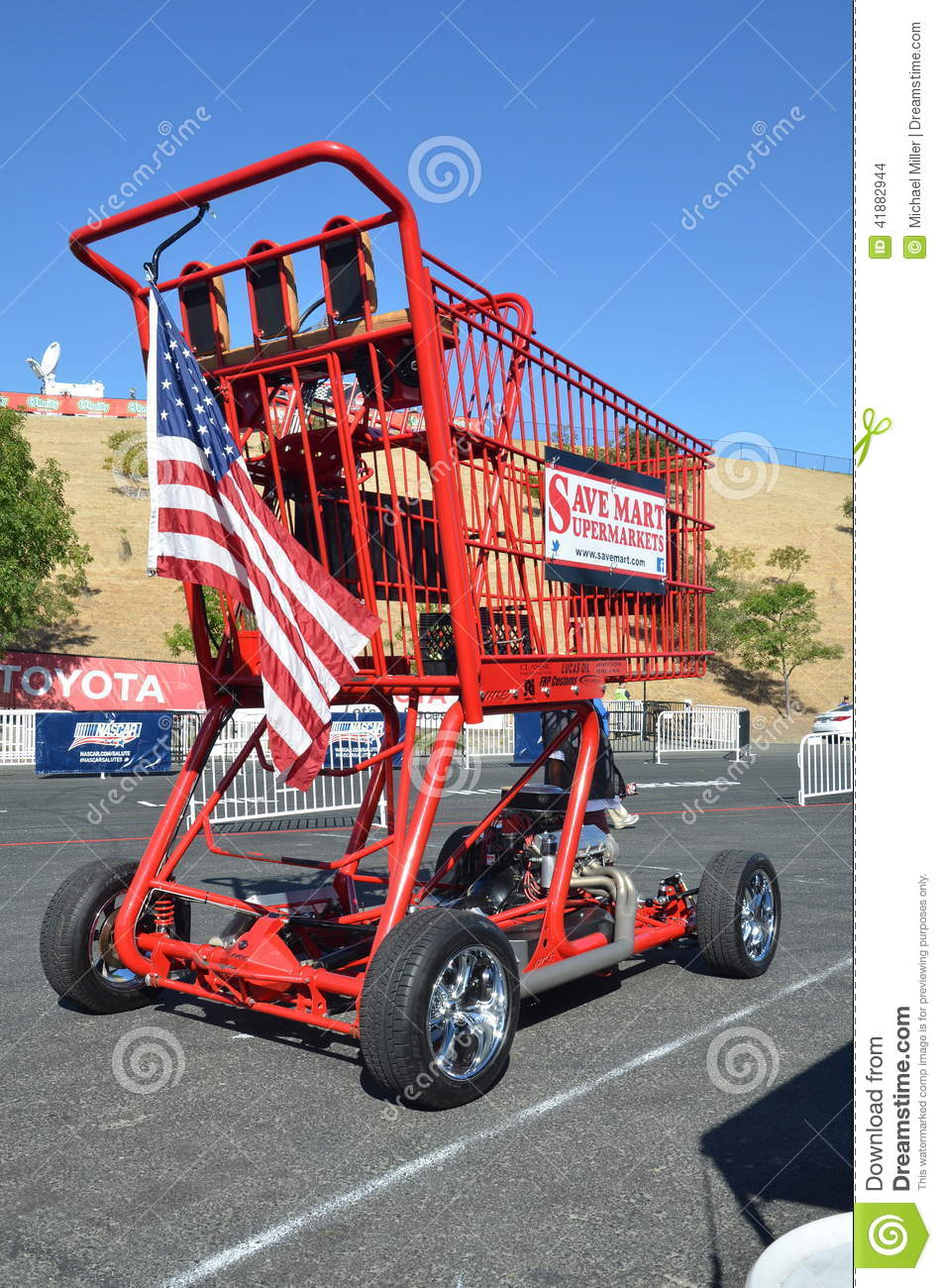 Save Mart Motorized Shopping Cart Editorial Stock Image Image 41882944