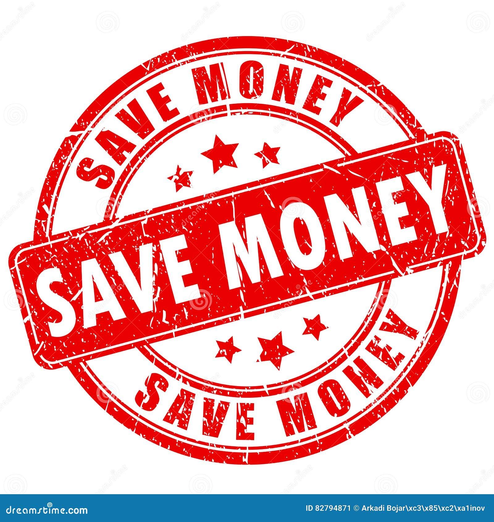 Save pieniądze pieczątkę