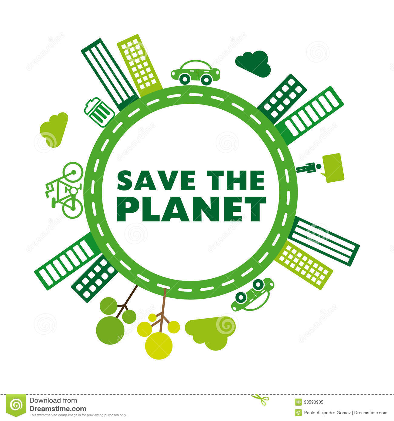 Save The Planet Royalty Free Stock Photo - Image: 33590905