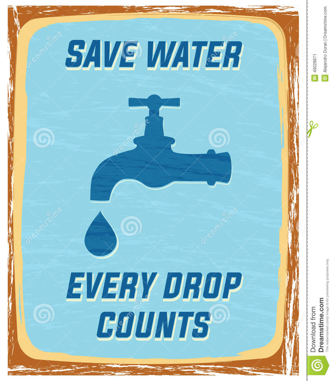 save every drop of water essay