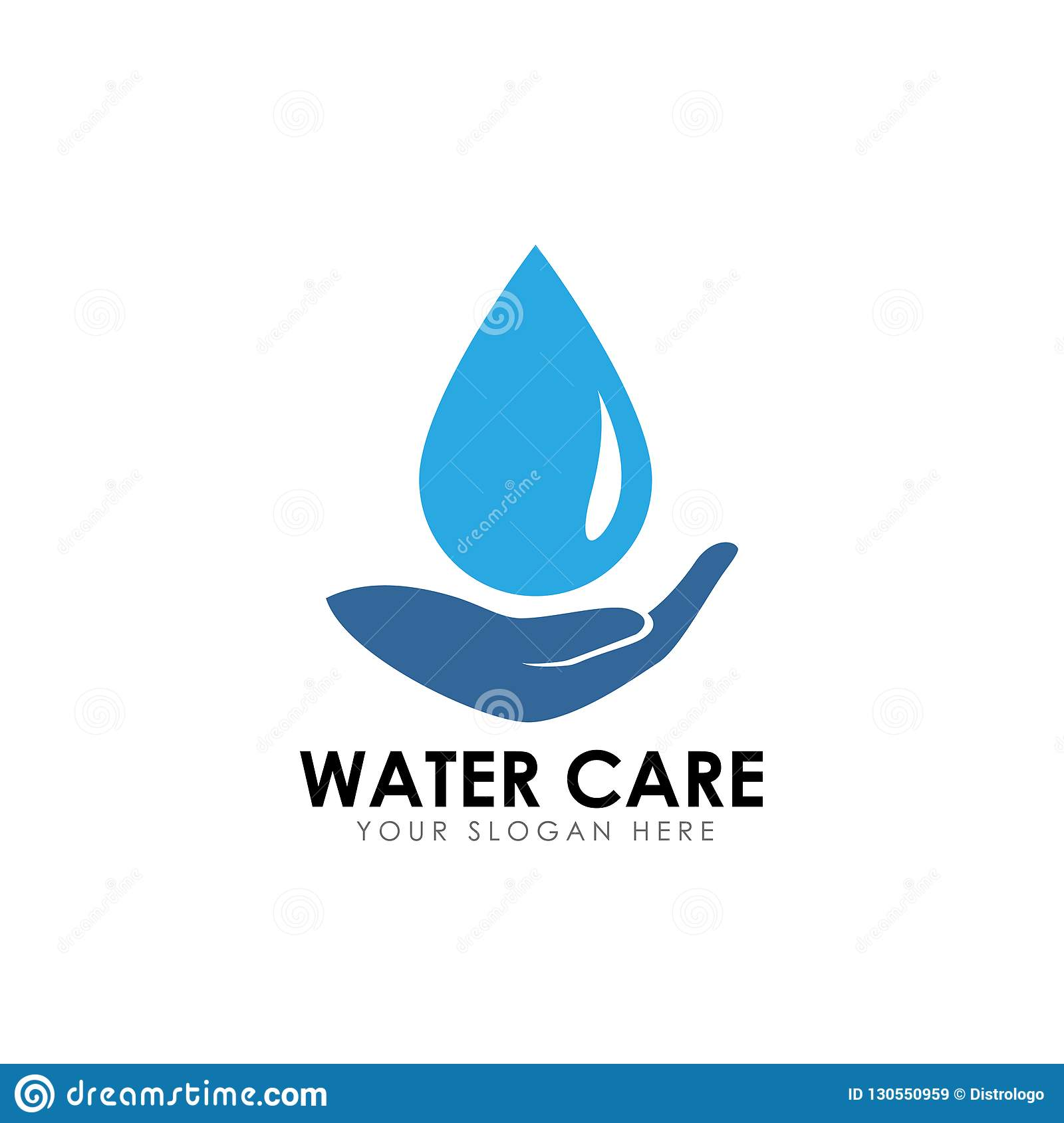 Save Water Logo Design Template Stock Vector Illustration Of