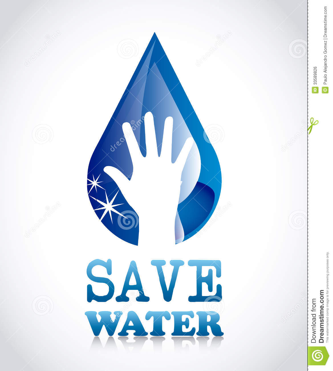 save water royalty stock image image  save water