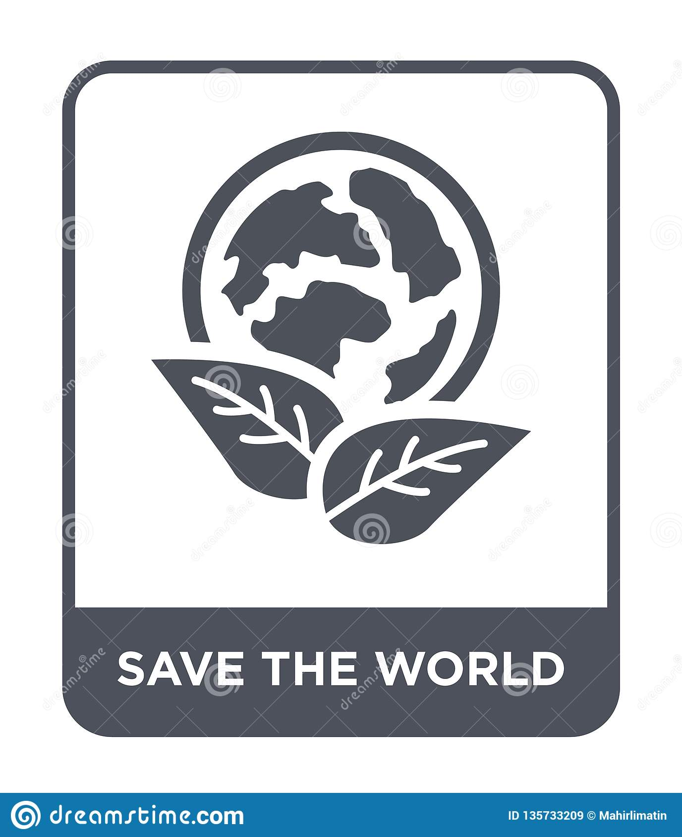 save the world icon in trendy design style. save the world icon isolated on white background. save the world vector icon simple