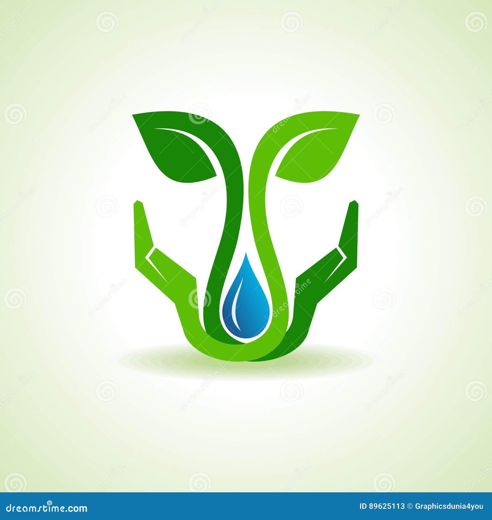 Save ziemię, wodę i środowiska pojęcie,