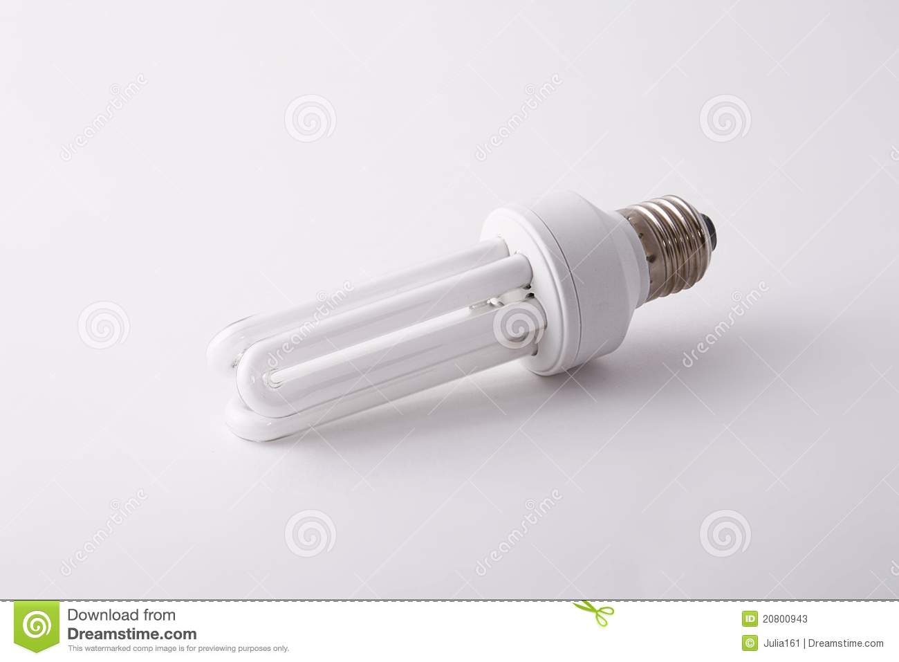 Energy Saving Light Bulb Royalty Free Stock Photography 7125029
