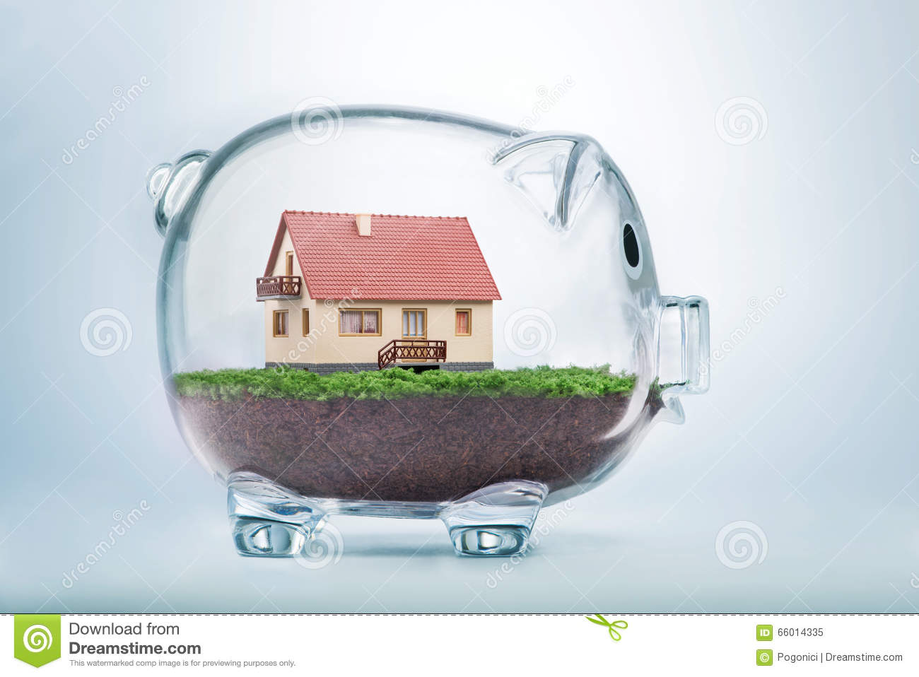 Saving to buy a house or home savings concept stock photo Buy house com