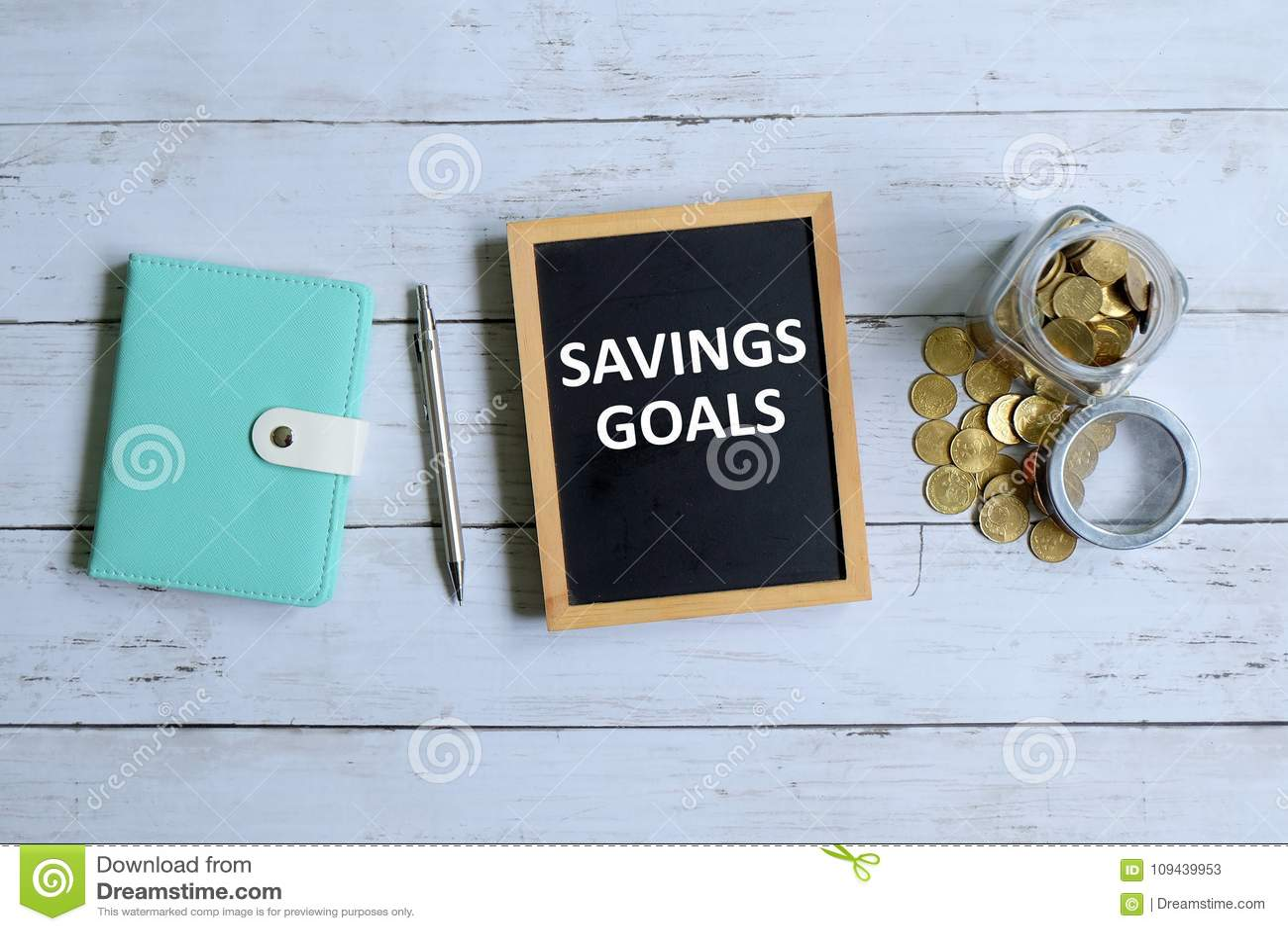 Savings cel pisać na blackboard