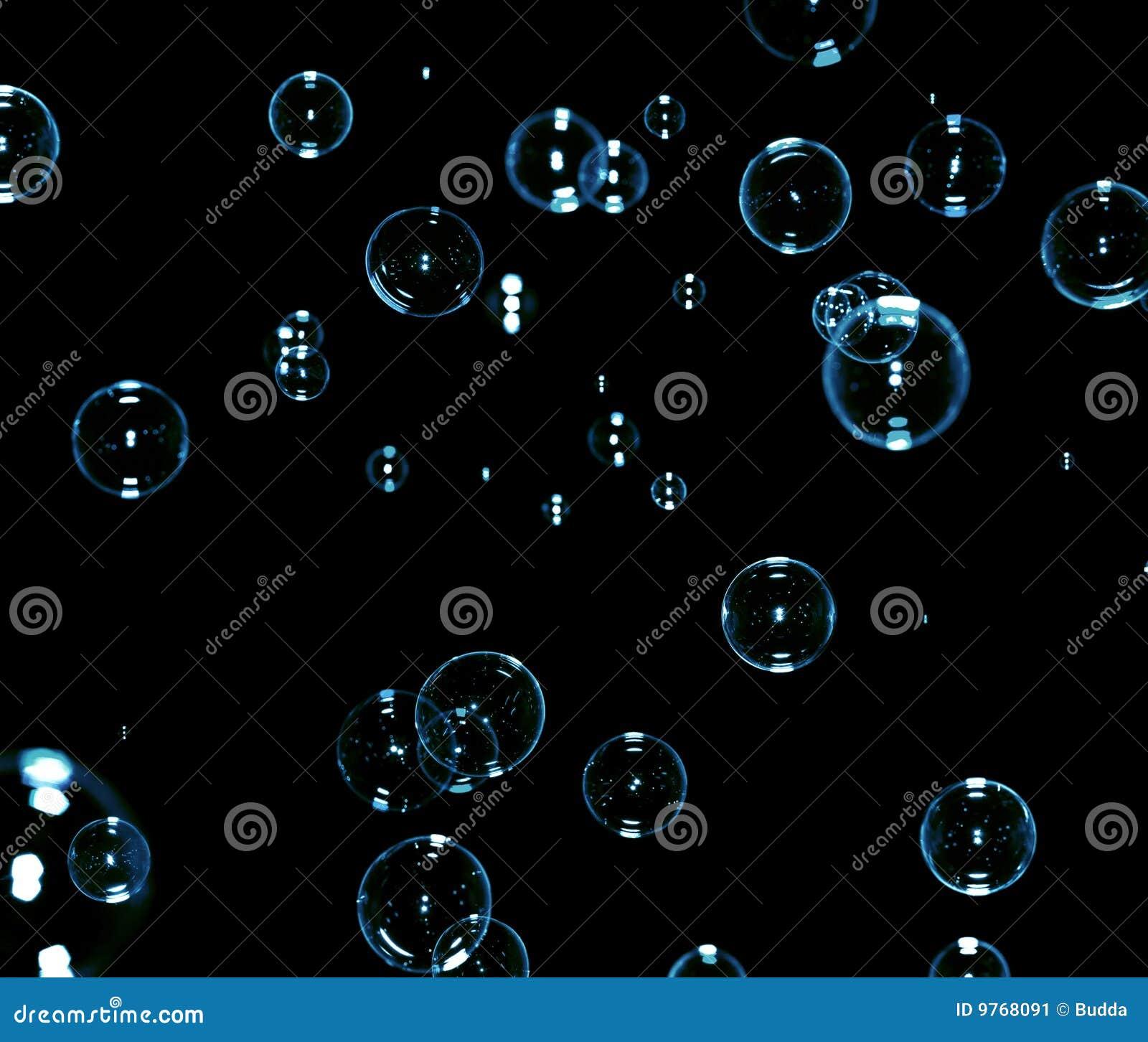 Savon noir de bulles