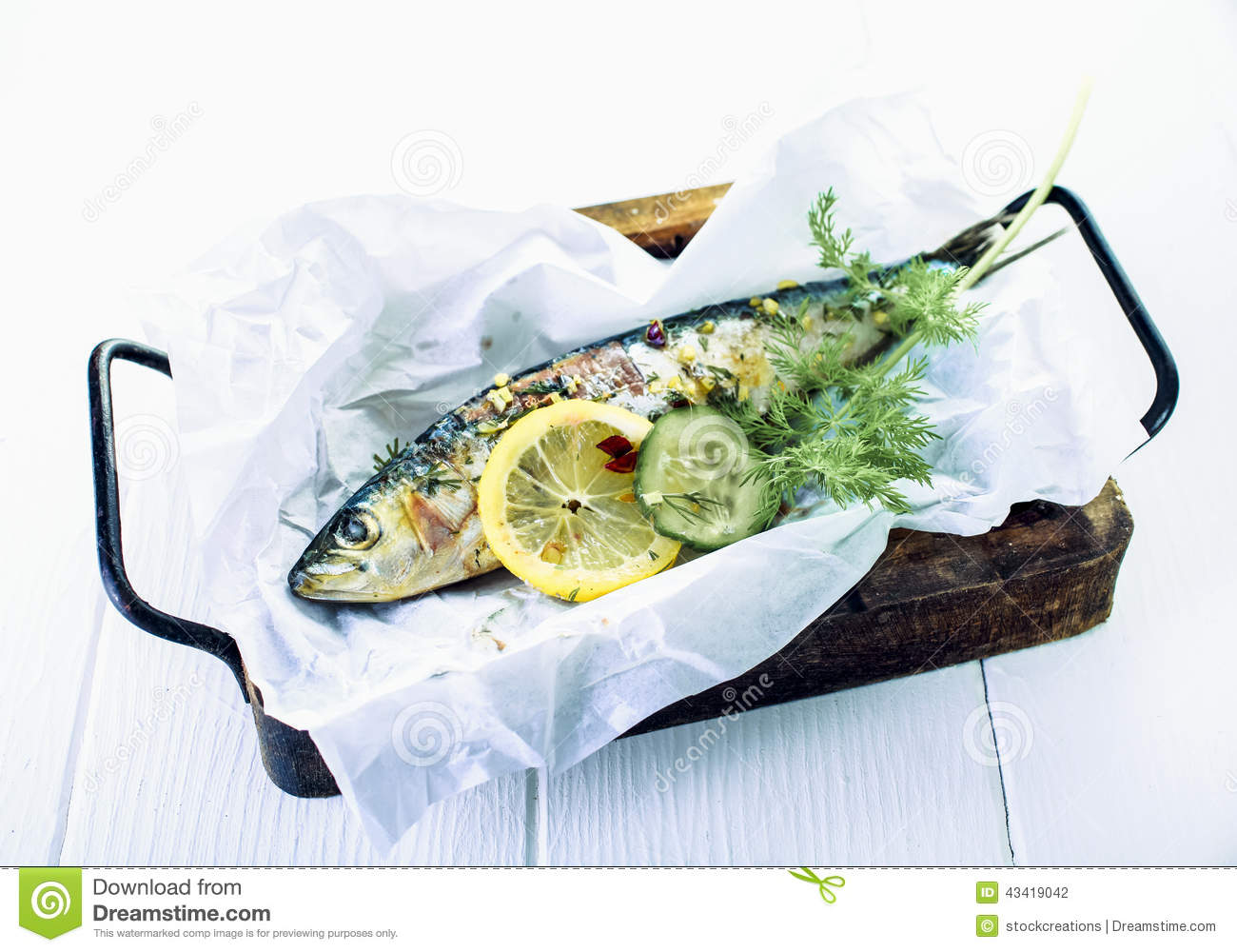 Salt-Baked Fish Stuffed With Herbs And Lemon Recipes — Dishmaps