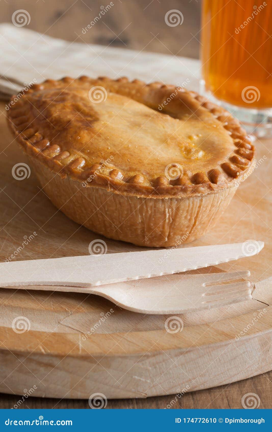 Savory Meat Pie stock photo. Image of savoury, table ...