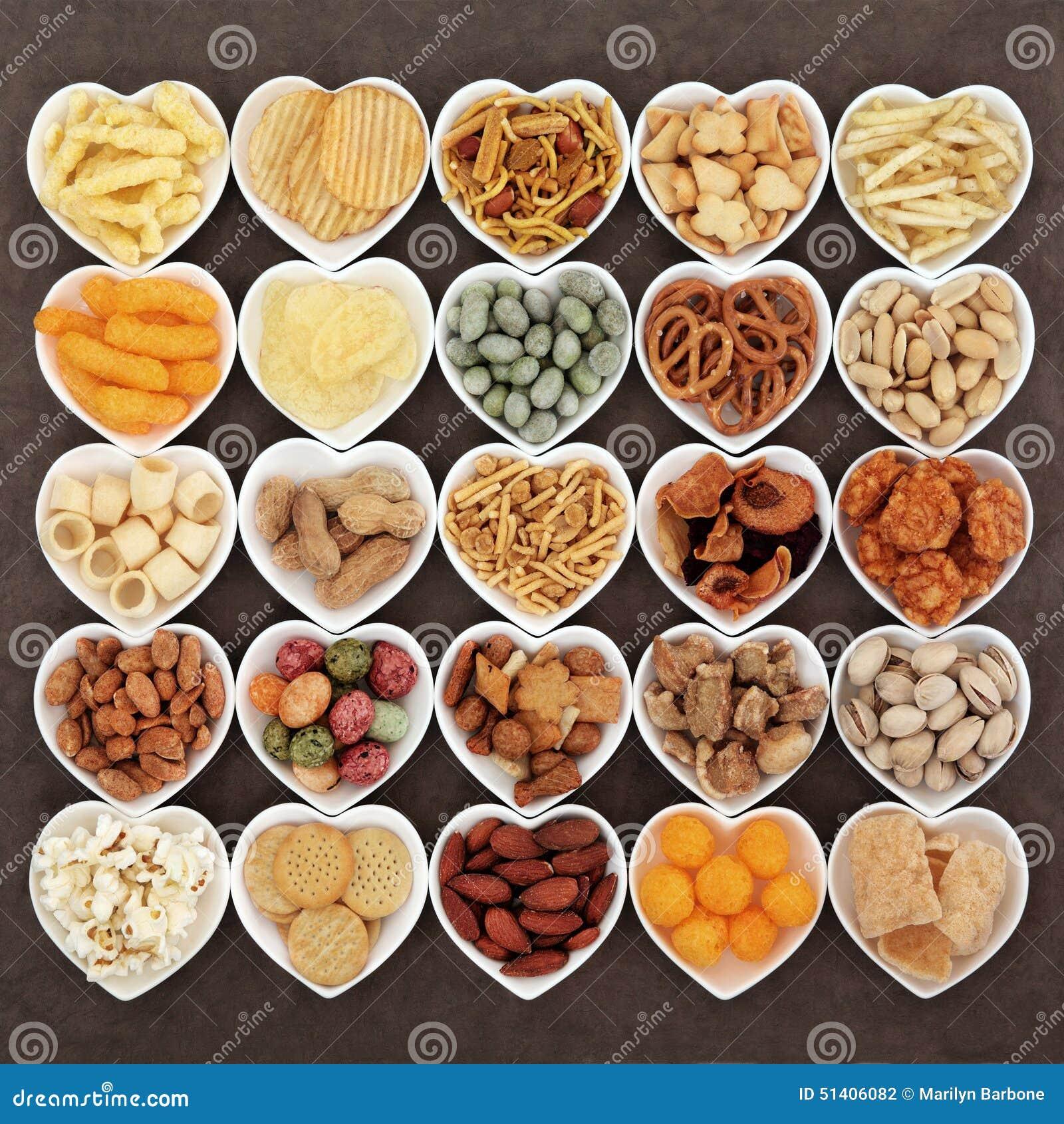 Savoury Snacks Stock Photo - Image: 51406082