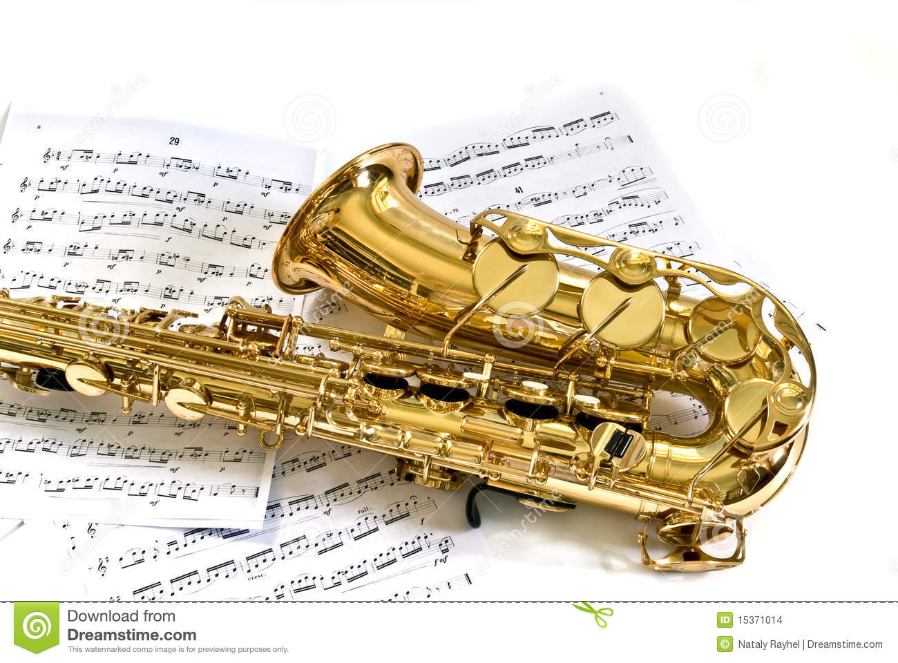 Sax stock photo  Image of musical, jazz, blues, saxophone