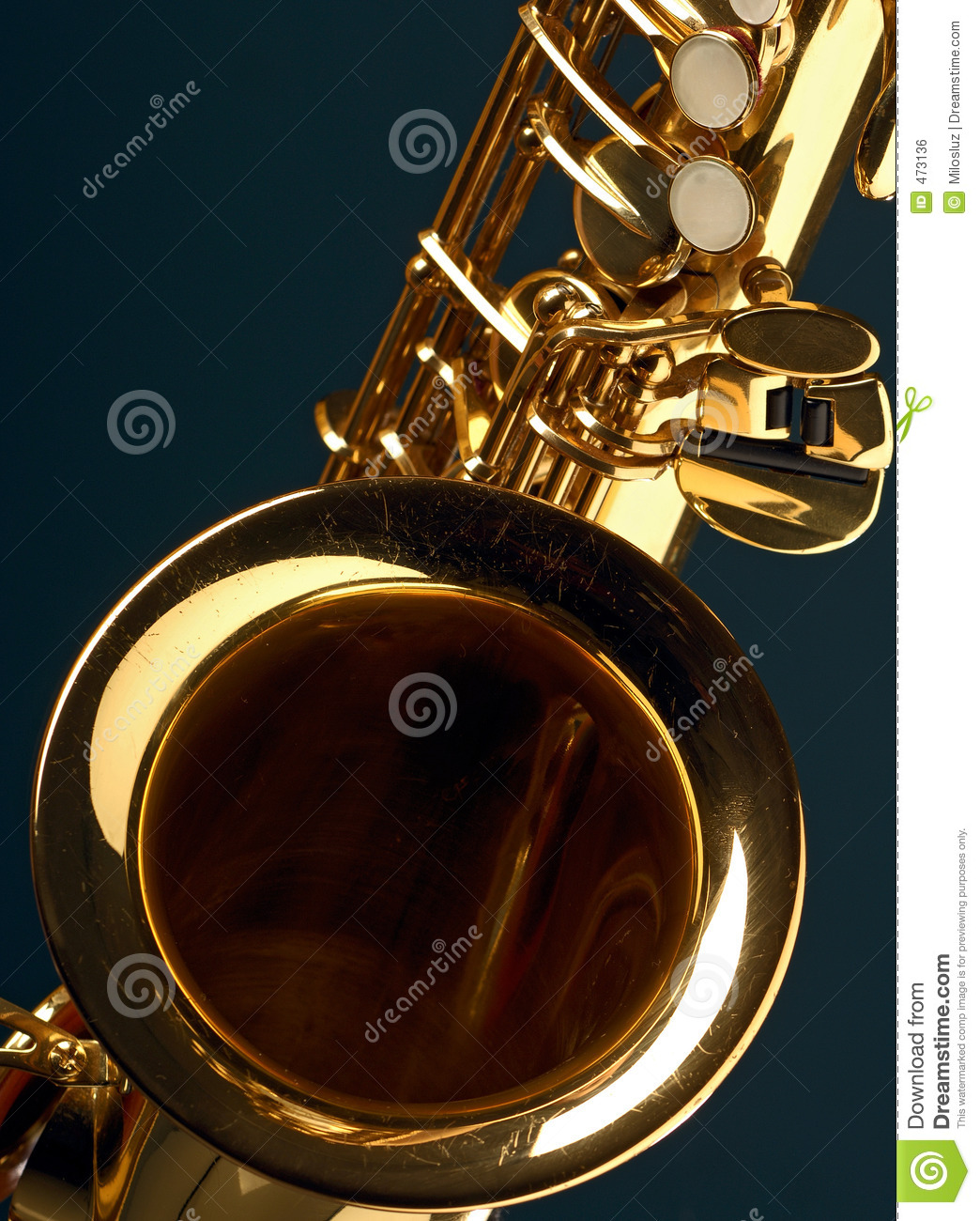 Download Sax stock photo. Image of gold, diagonal, sound, instrument - 473136