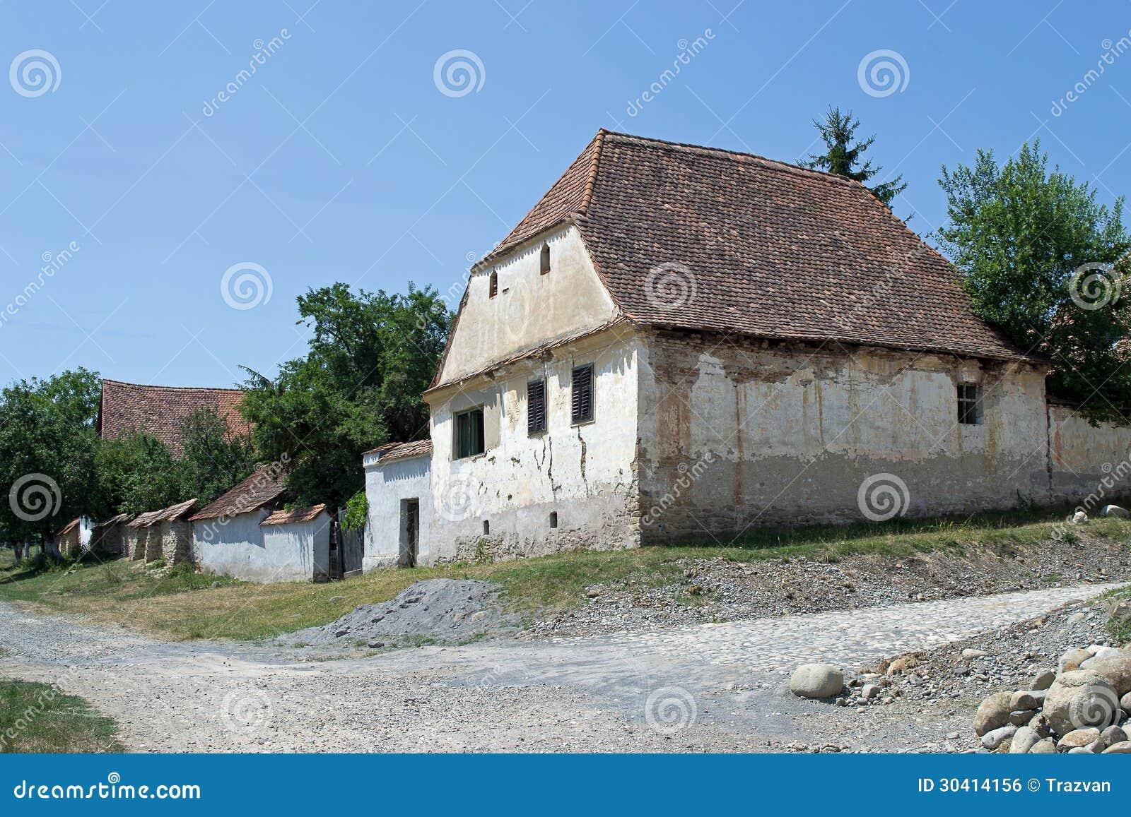 Saxon house in viscri transylvania romania royalty free stock image image 30414156 - Saxon style houses in transylvania ...