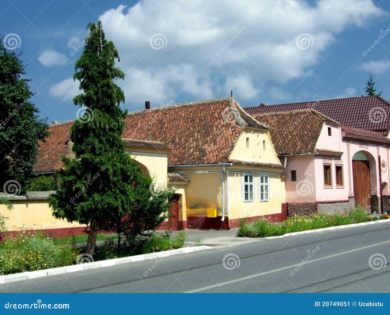 Saxon of transylvania stock image image 20749051 - Saxon style houses in transylvania ...