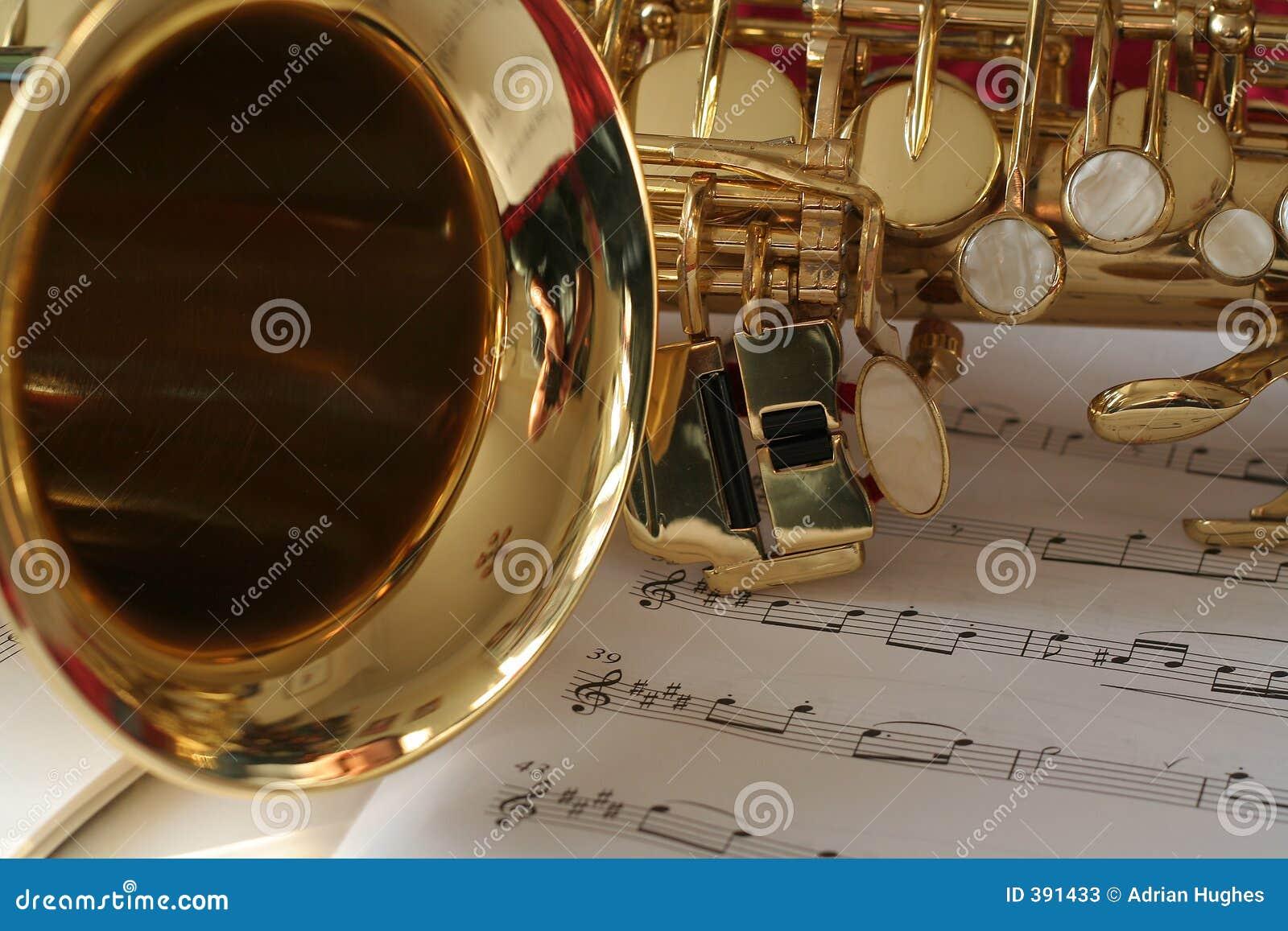 Saxophone μουσικής