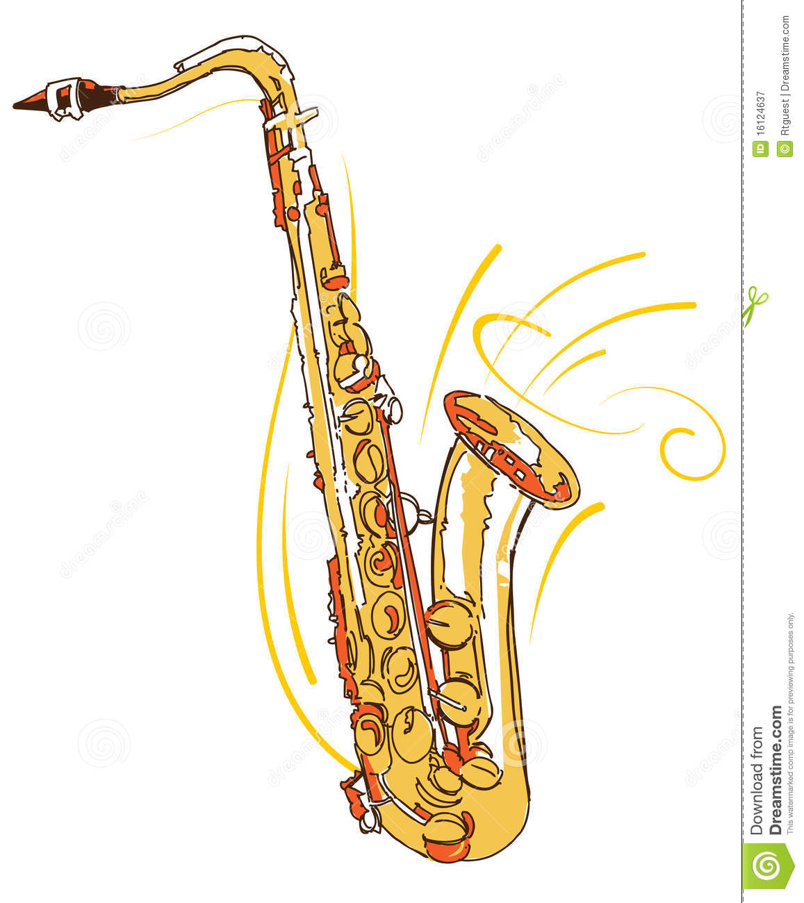 Saxophone Royalty Free Stock Photography - Image: 16124637
