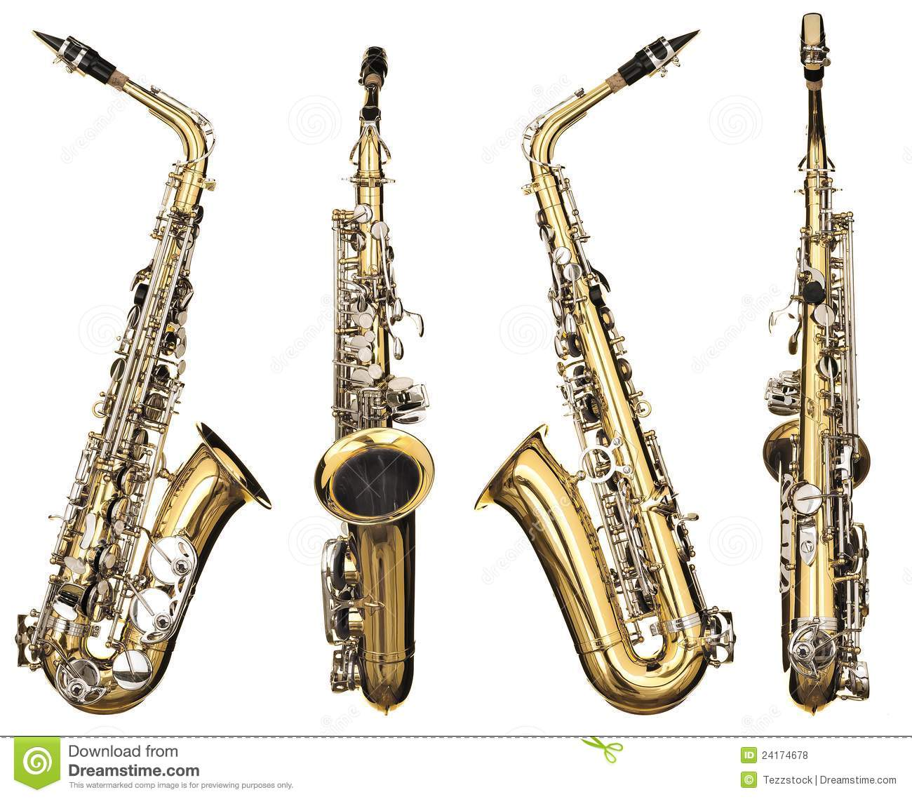 saxophone stock photo image of saxophone alto classical 24174678. Black Bedroom Furniture Sets. Home Design Ideas