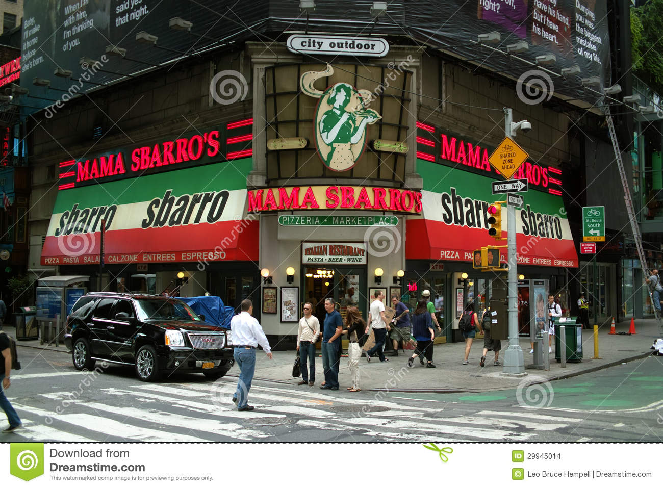 Italian Restaurant Th Ave New York