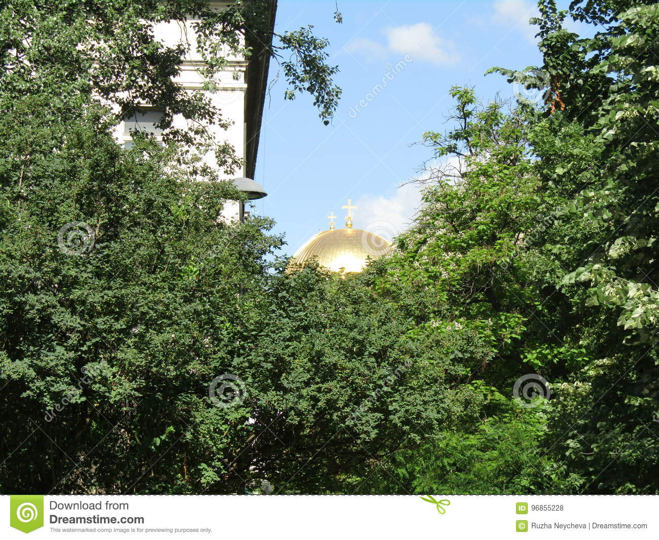 Sbirciate di Golden Dome