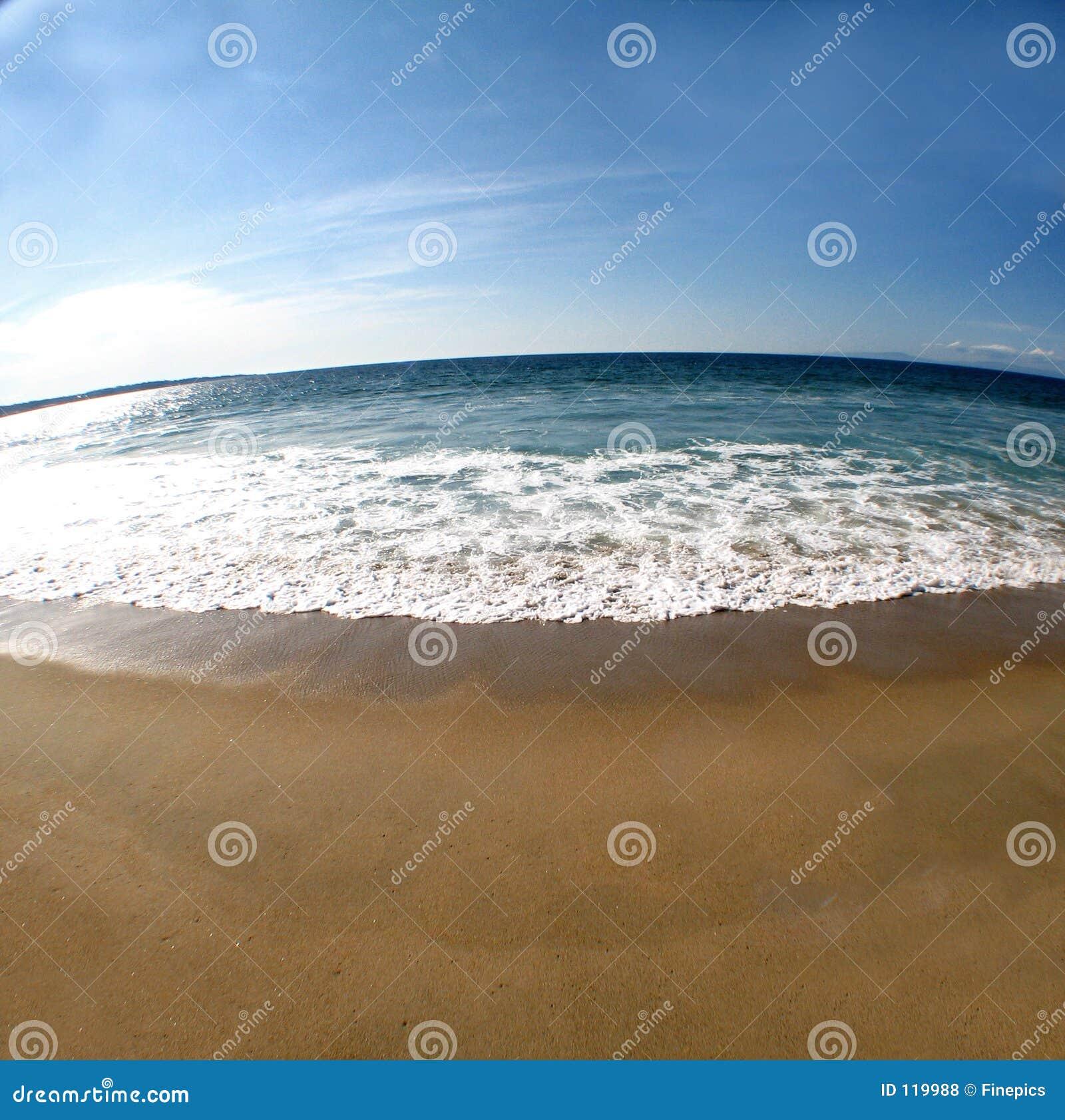 Scène 2 van het strand