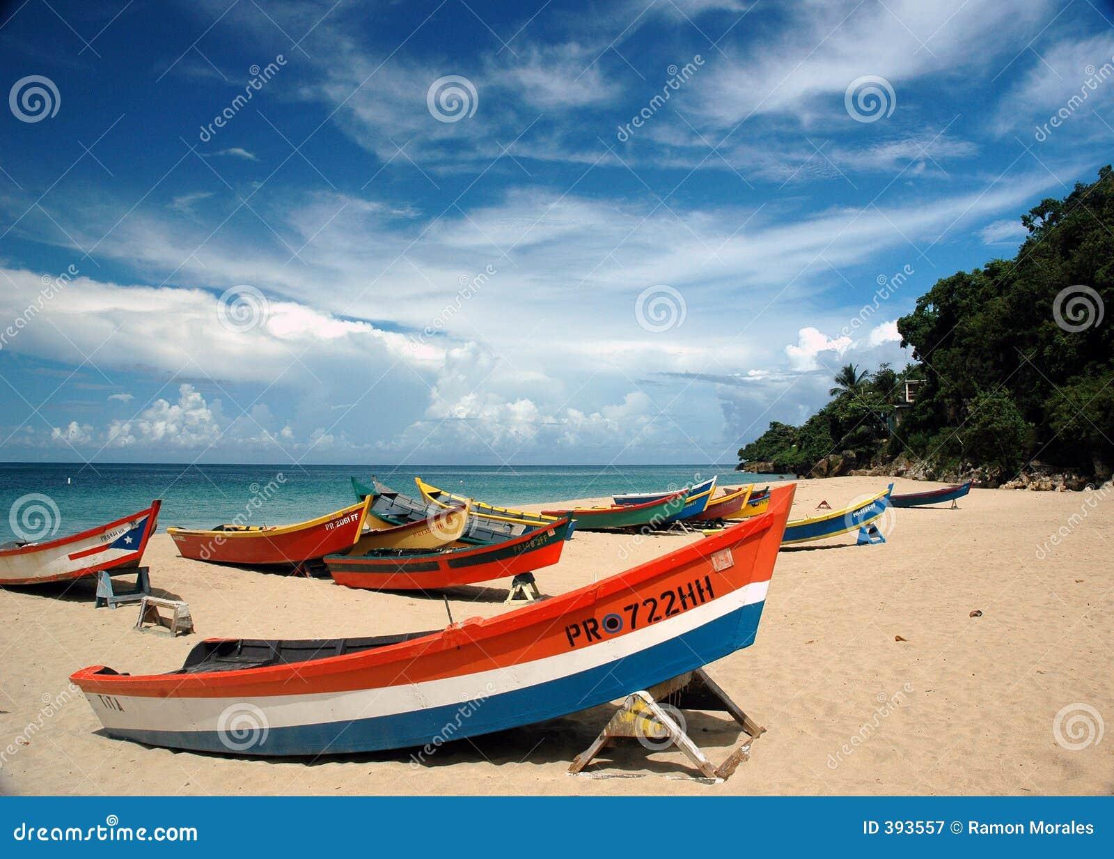 Scène de bateaux
