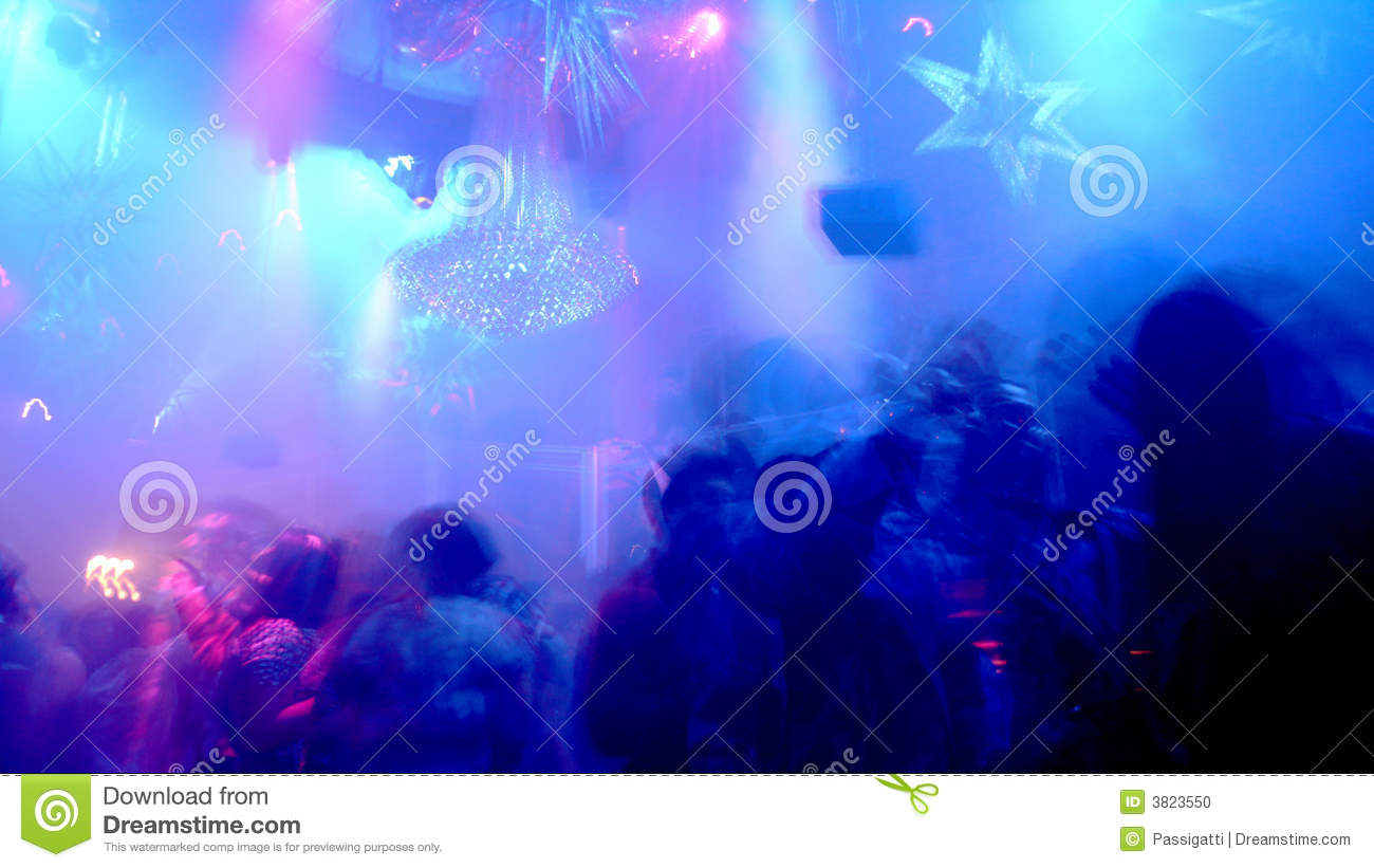 Sc ne de bo te de nuit photo stock image 3823550 - Decoration boite de nuit ...