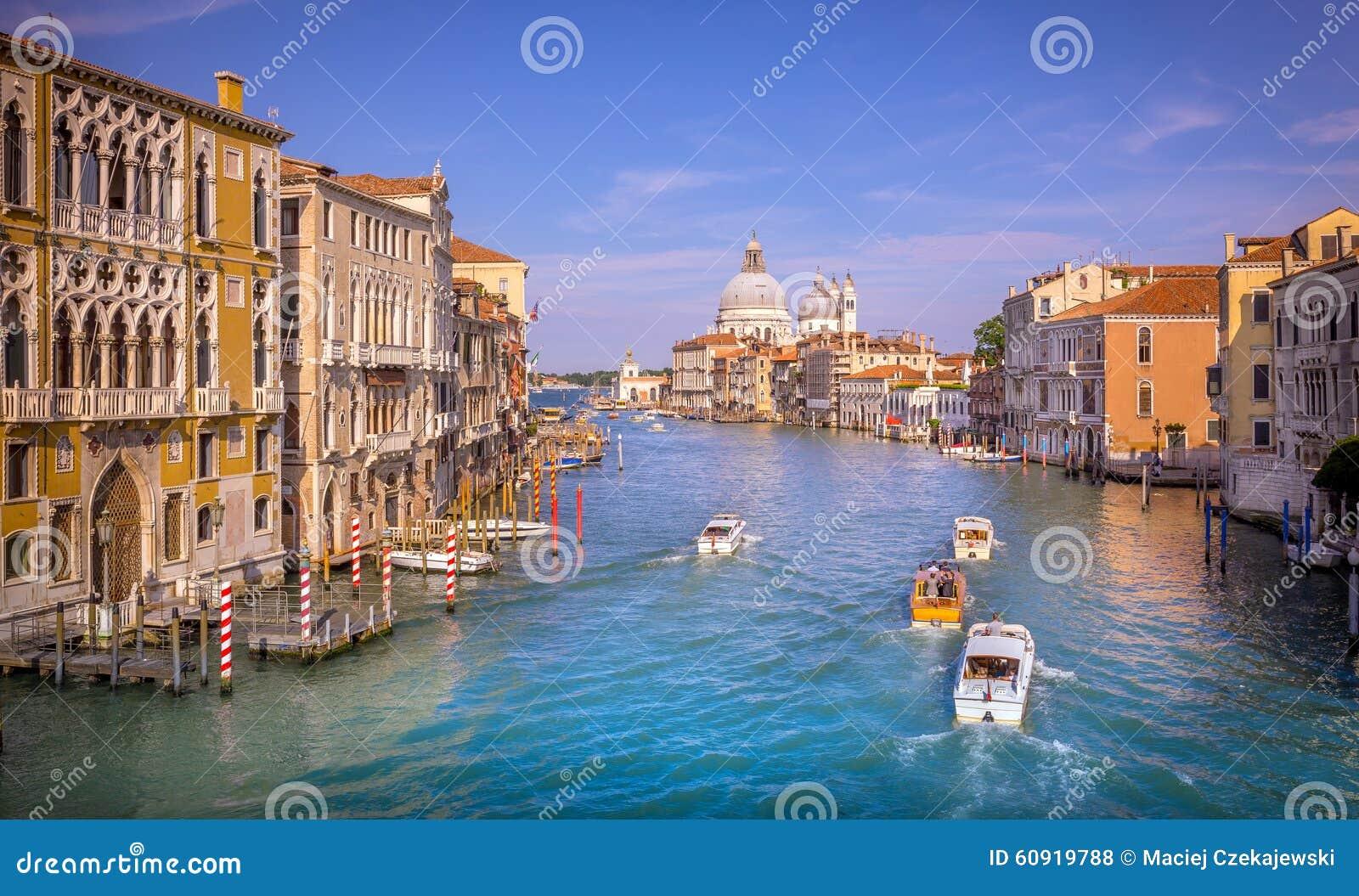Scène de Grand Canal, Venise