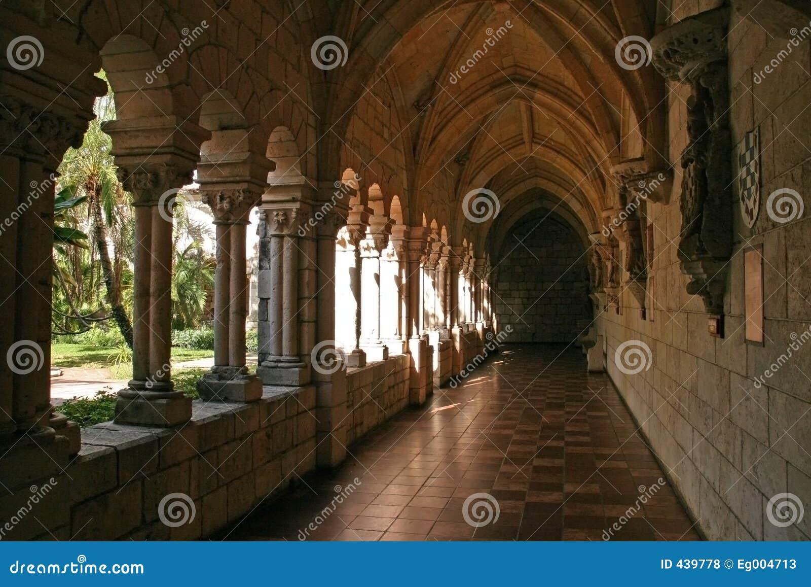 Scène de monastère