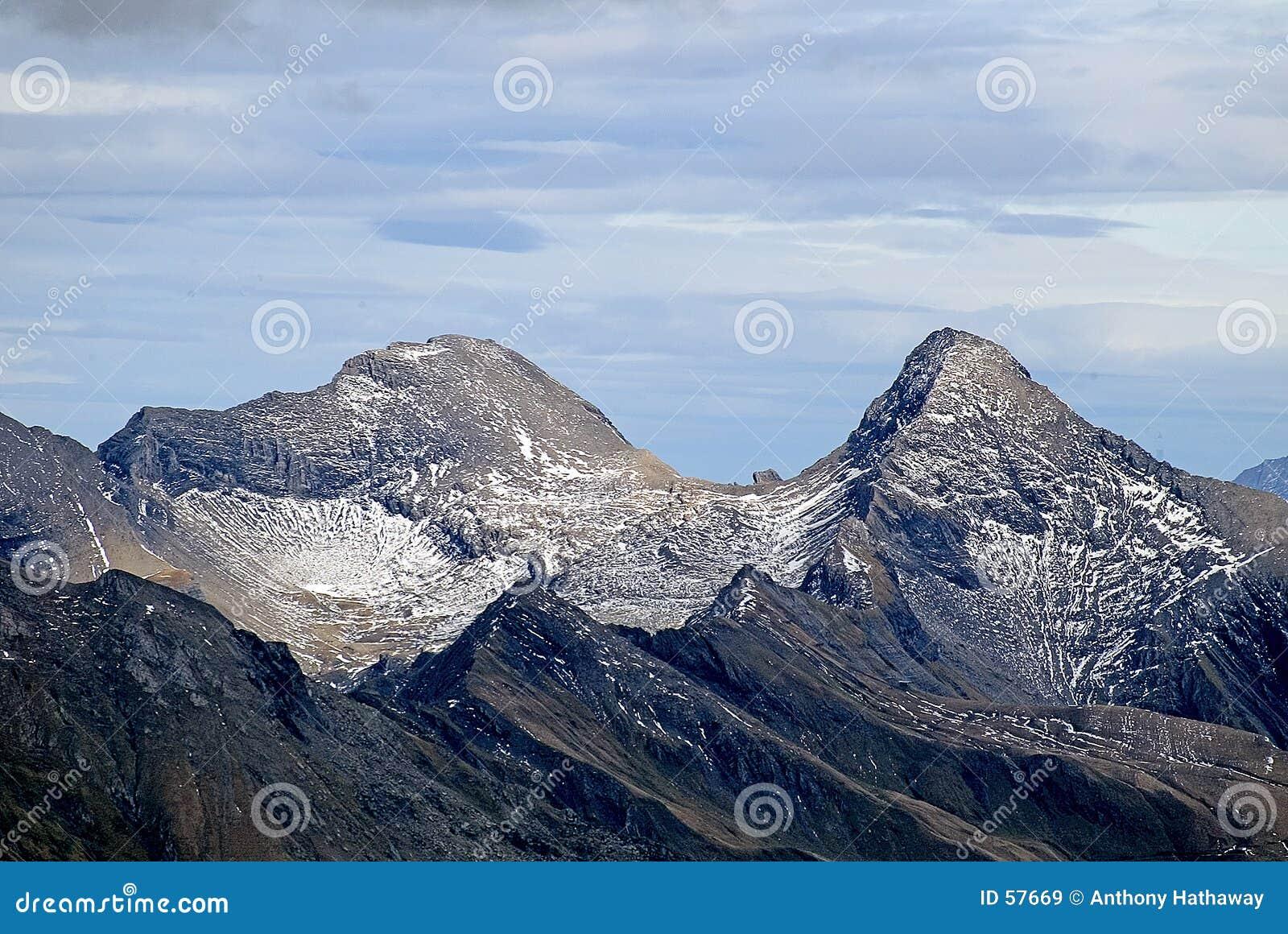 Scène de montagne