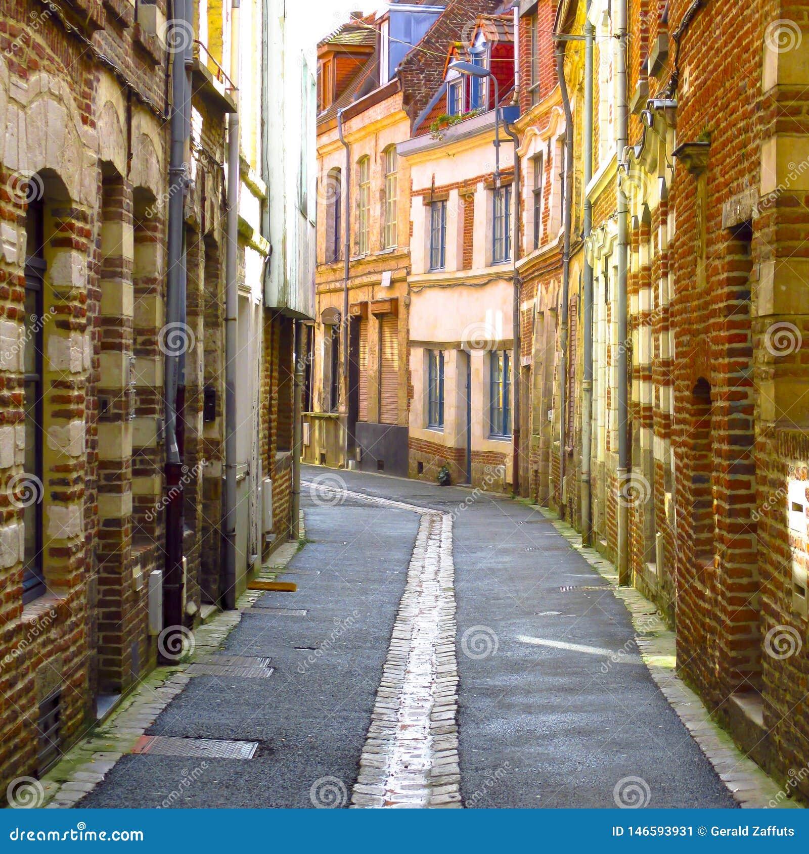 Scène de rue à lille, France