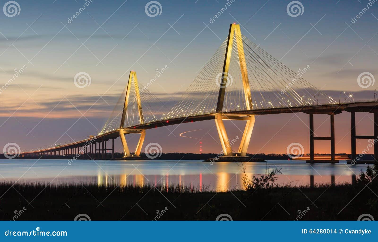 Sc di Charleston del ponte di Arthur Ravenel New Cooper River