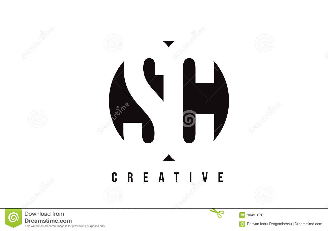 Sc S C White Letter Logo Design With Circle Background