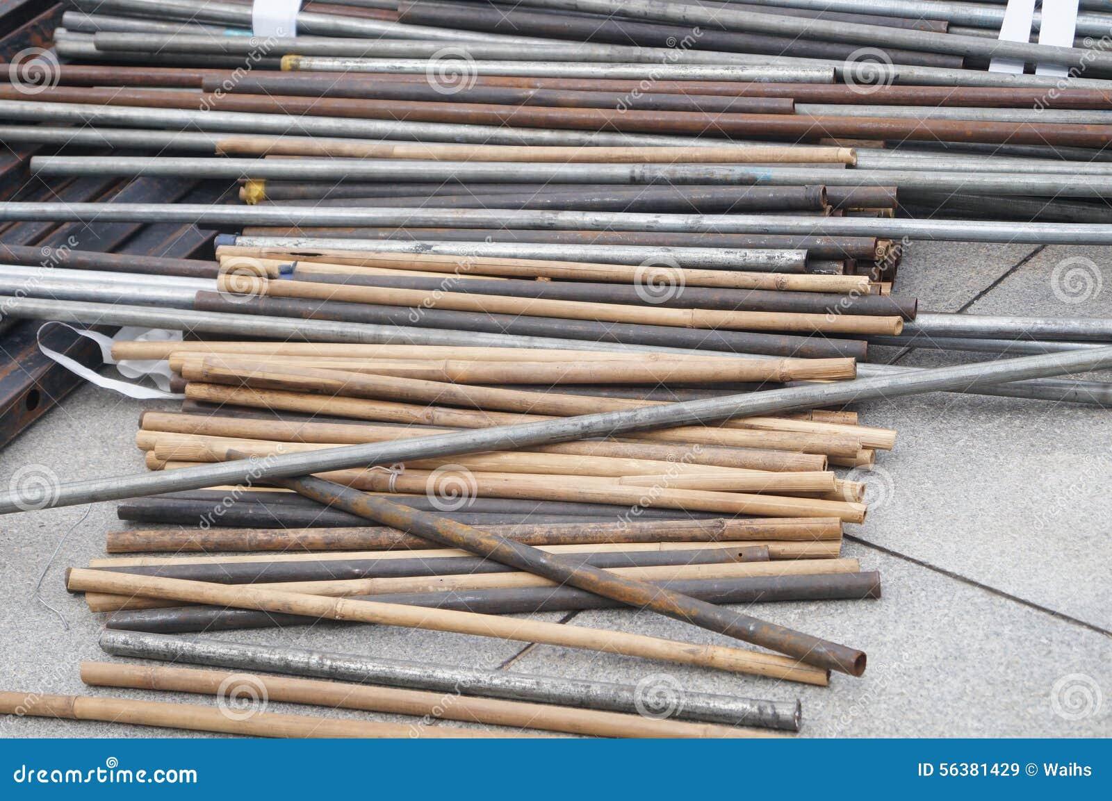 Scaffale del ferro della costruzione immagine stock immagine di