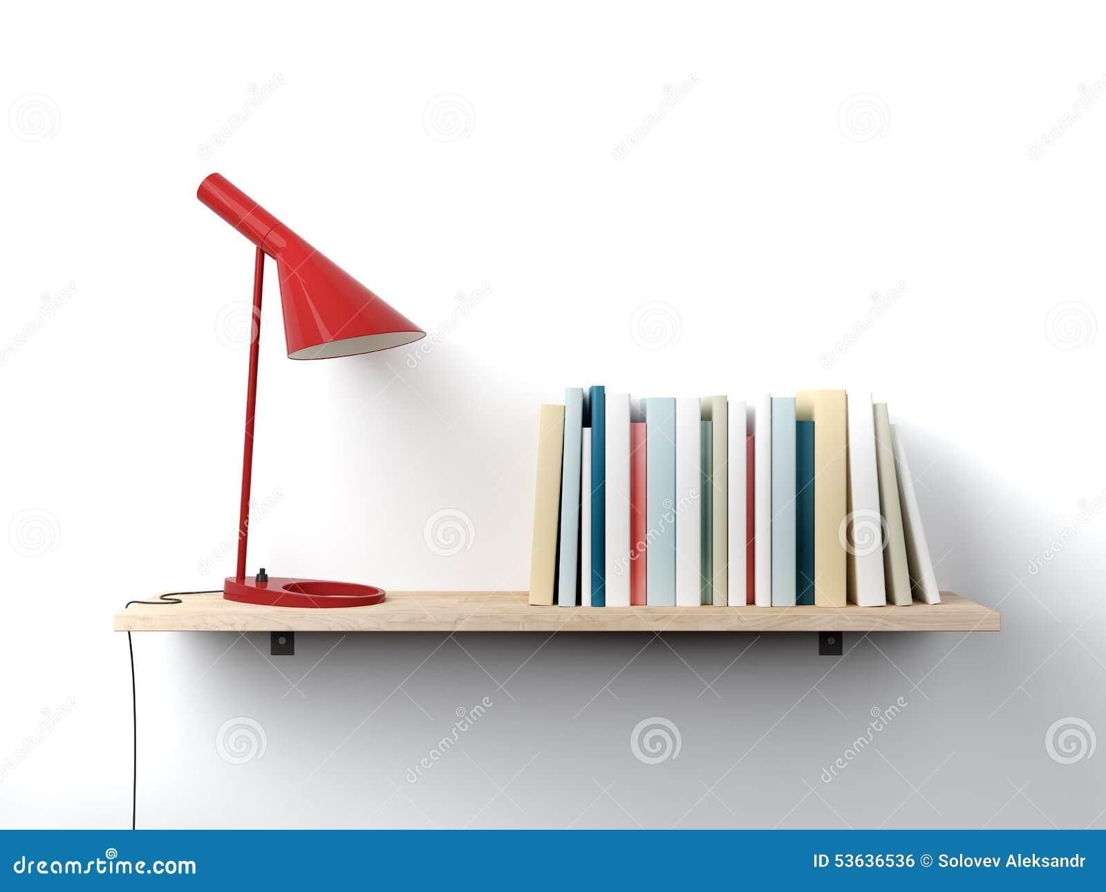 Scaffale per libri sulla parete