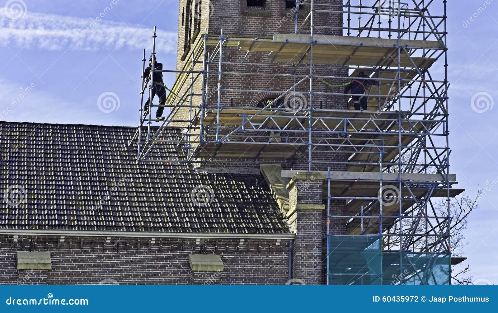 scaffold builders stock photo image  scaffold builders