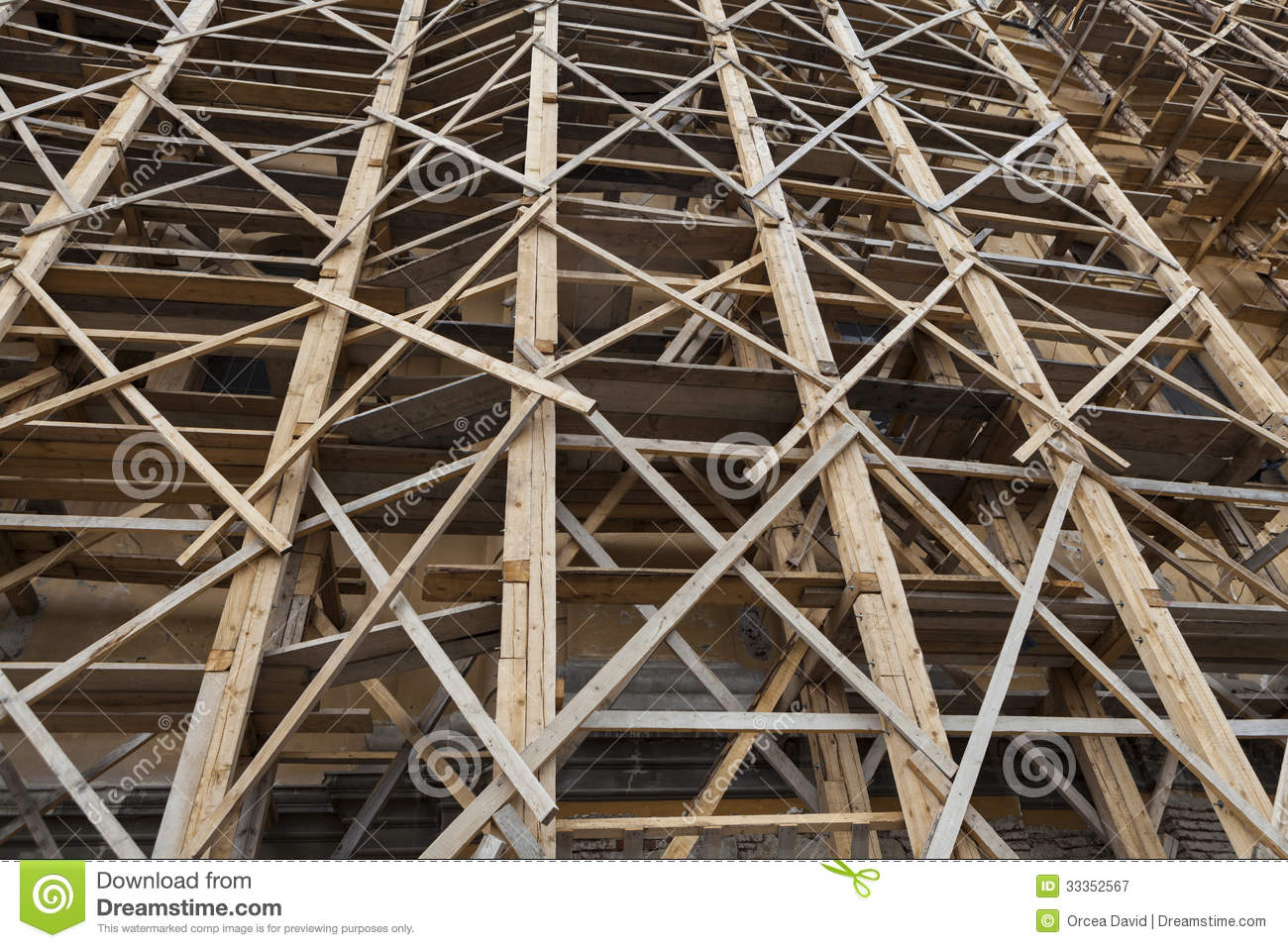 Scaffold Royalty Free Stock Photography Image 33352567